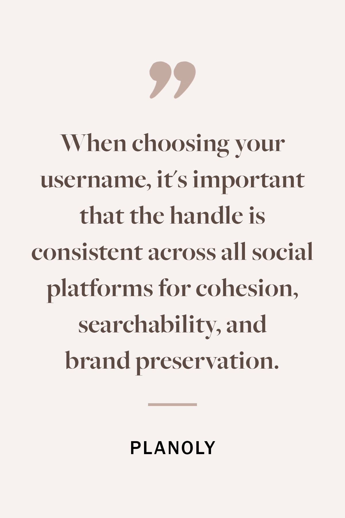 PLANOLY - Blog - Choosing a Username for Your Brand - Vertical - 2