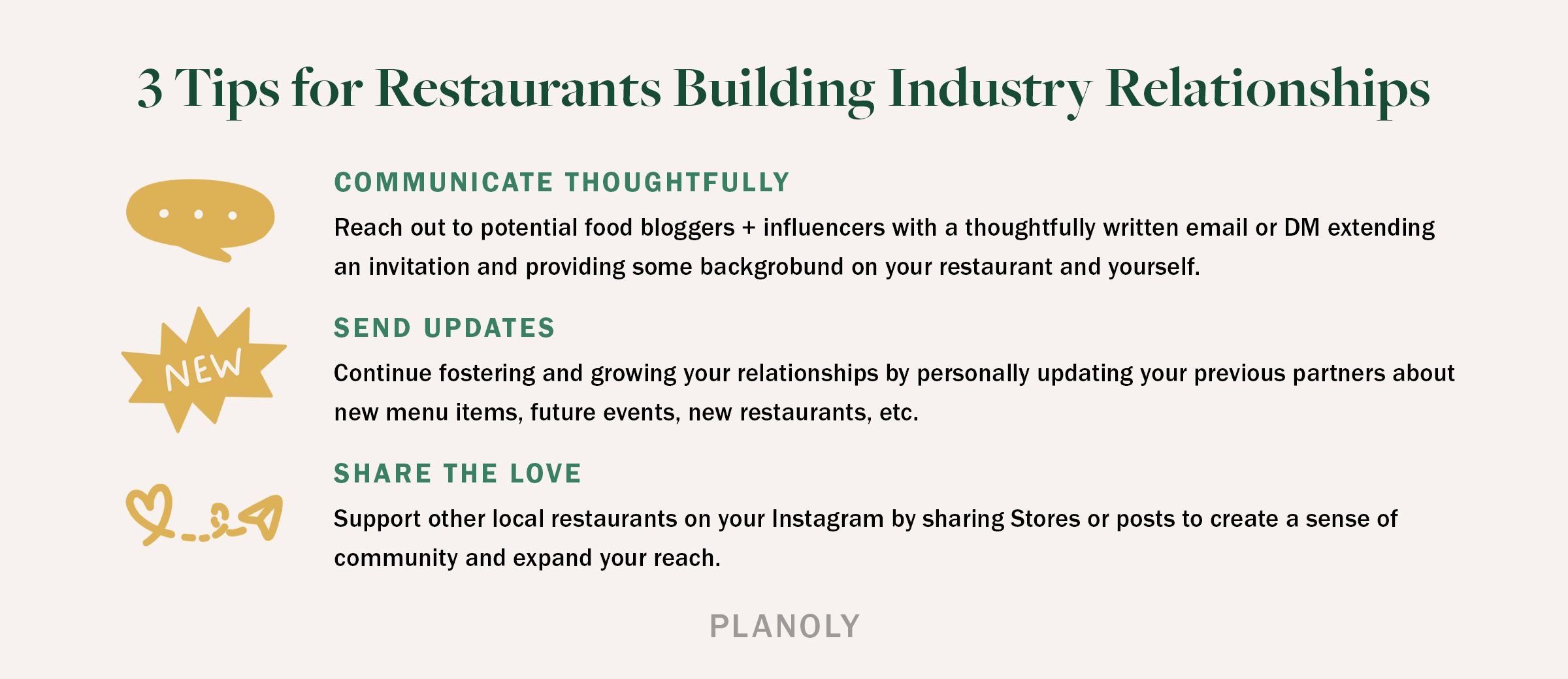 PLANOLY - Blog - How to Work with Food Bloggers and Influencers - Horitonztal
