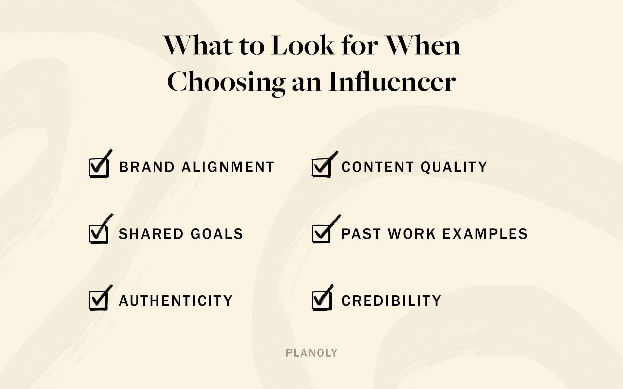 PLANOLY - Blog - Influencer Evaluation Guide - Horizontal