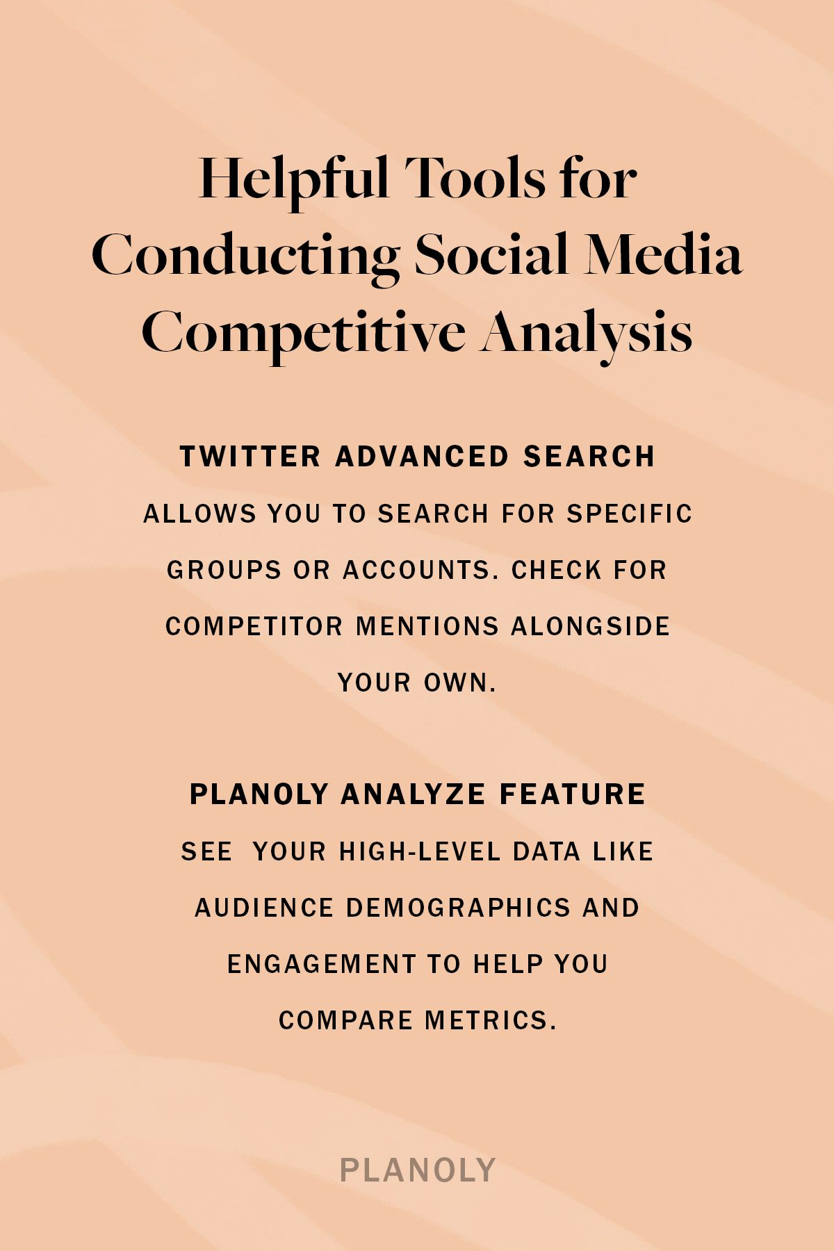 PLANOLY - Blog - Social Media Competitor Analysis - Vertical - 1