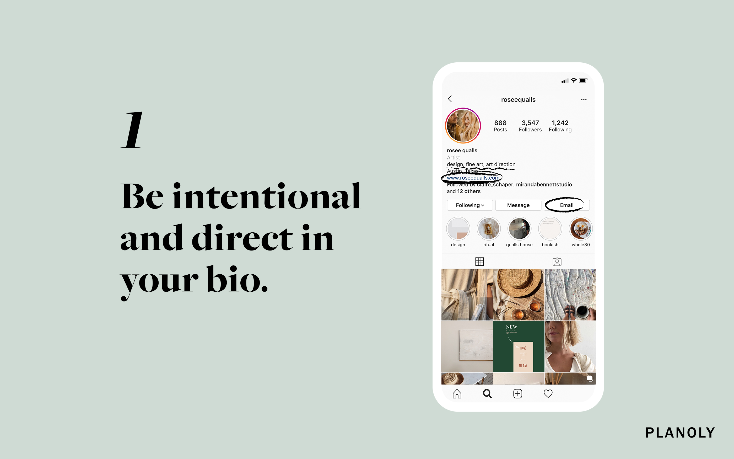 PLANOLY - Blog Post - 4 Easy ways to promote your design work on Instagram - Image 1