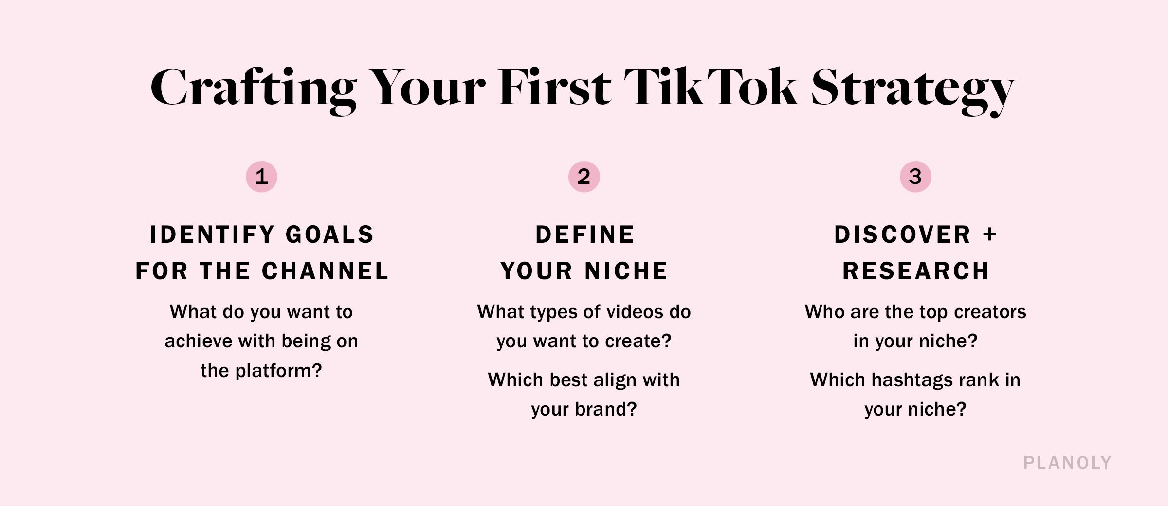 PLANOLY - Blog Post - Creating Your First TikTok Strategy - Image 1