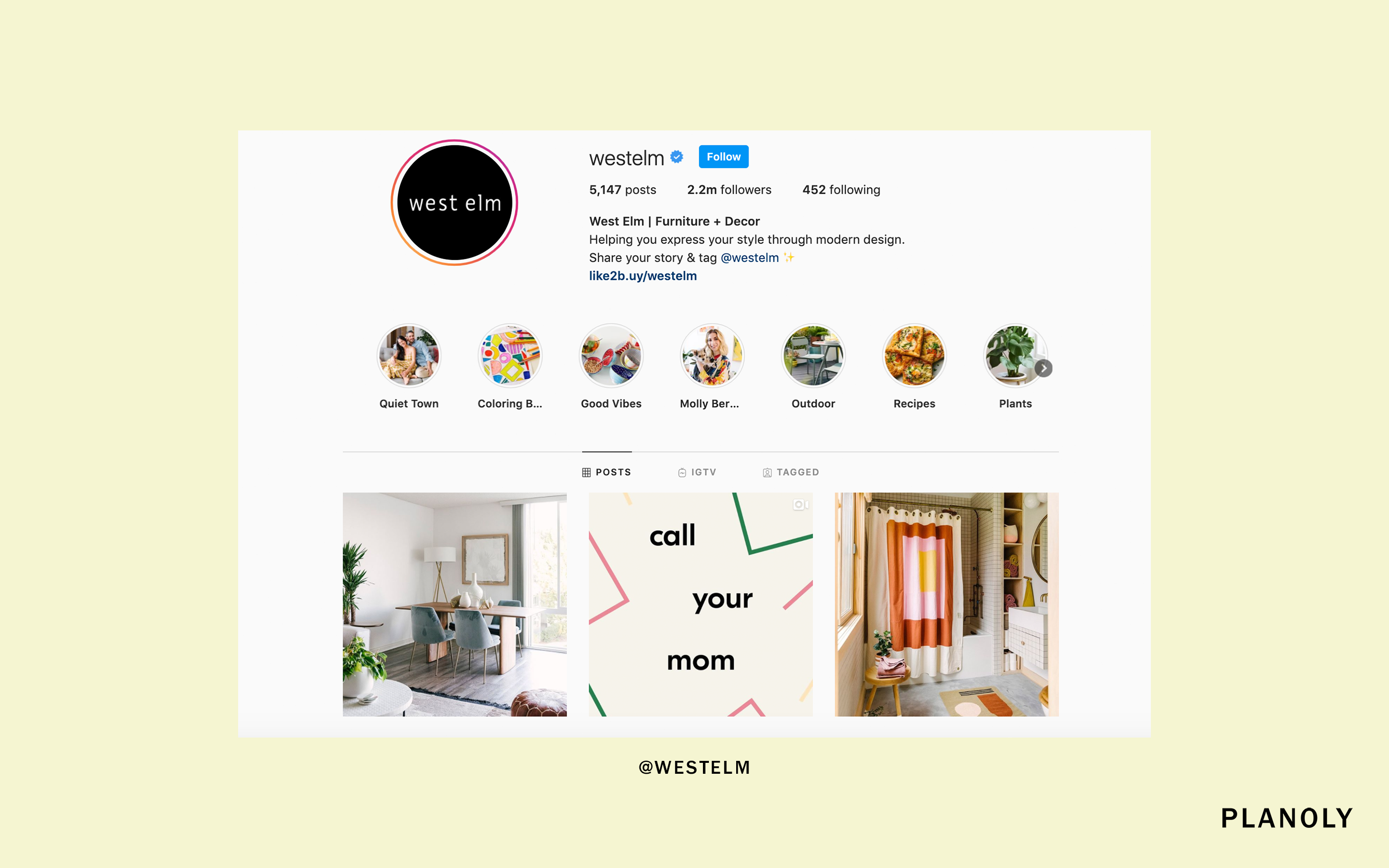 PLANOLY - Blog Post - How to Create Instagram Stories Highlights That Serve Your Customers - Image 1