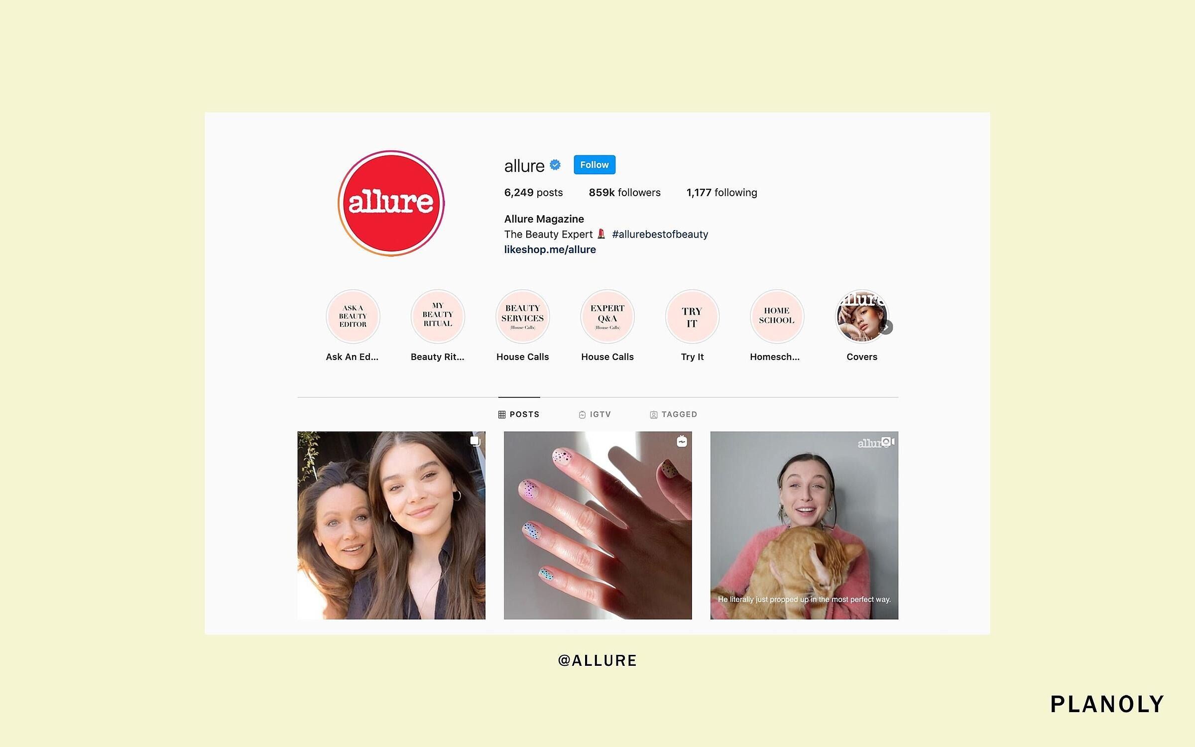 PLANOLY - Blog Post - How to Create Instagram Stories Highlights That Serve Your Customers - Image 2