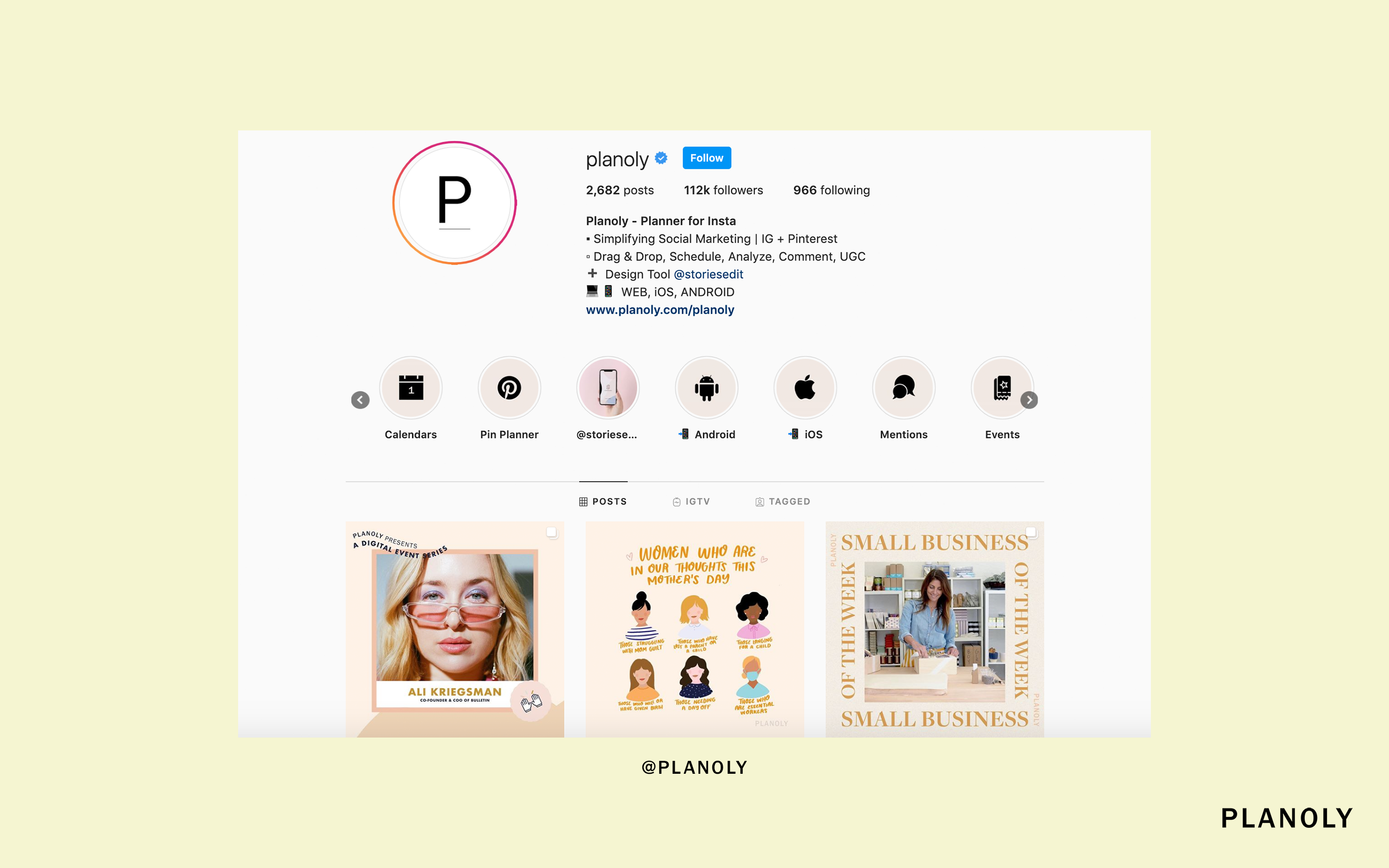 PLANOLY - Blog Post - How to Create Instagram Stories Highlights That Serve Your Customers - Image 6