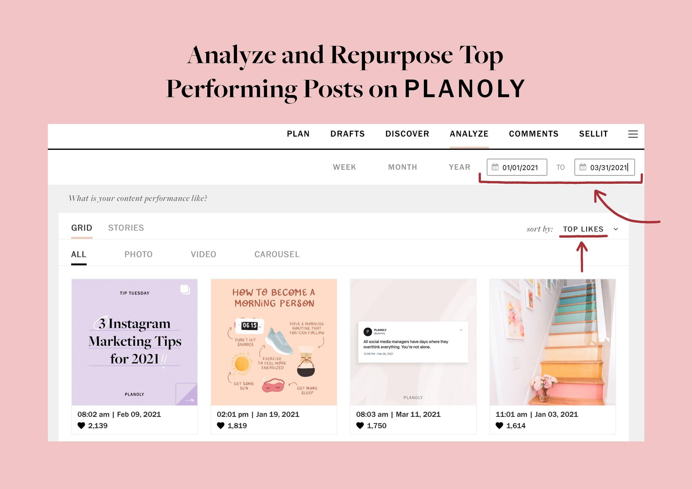 PLANOLY - Blog Post - Instagram Insights Tutorial - Image 3