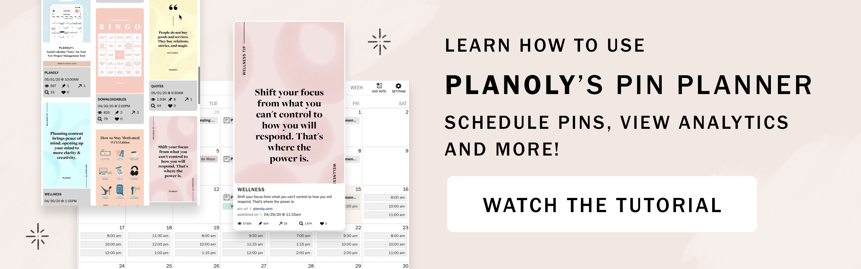 PLANOLY - Blog Post - Pinterest for Business - CTA Image