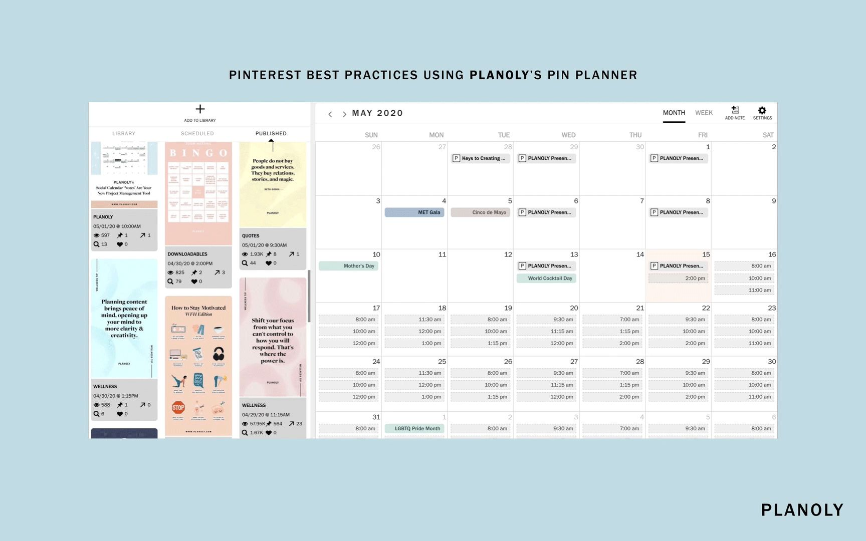 PLANOLY - Blog Post - Pinterest for Business - Image 2