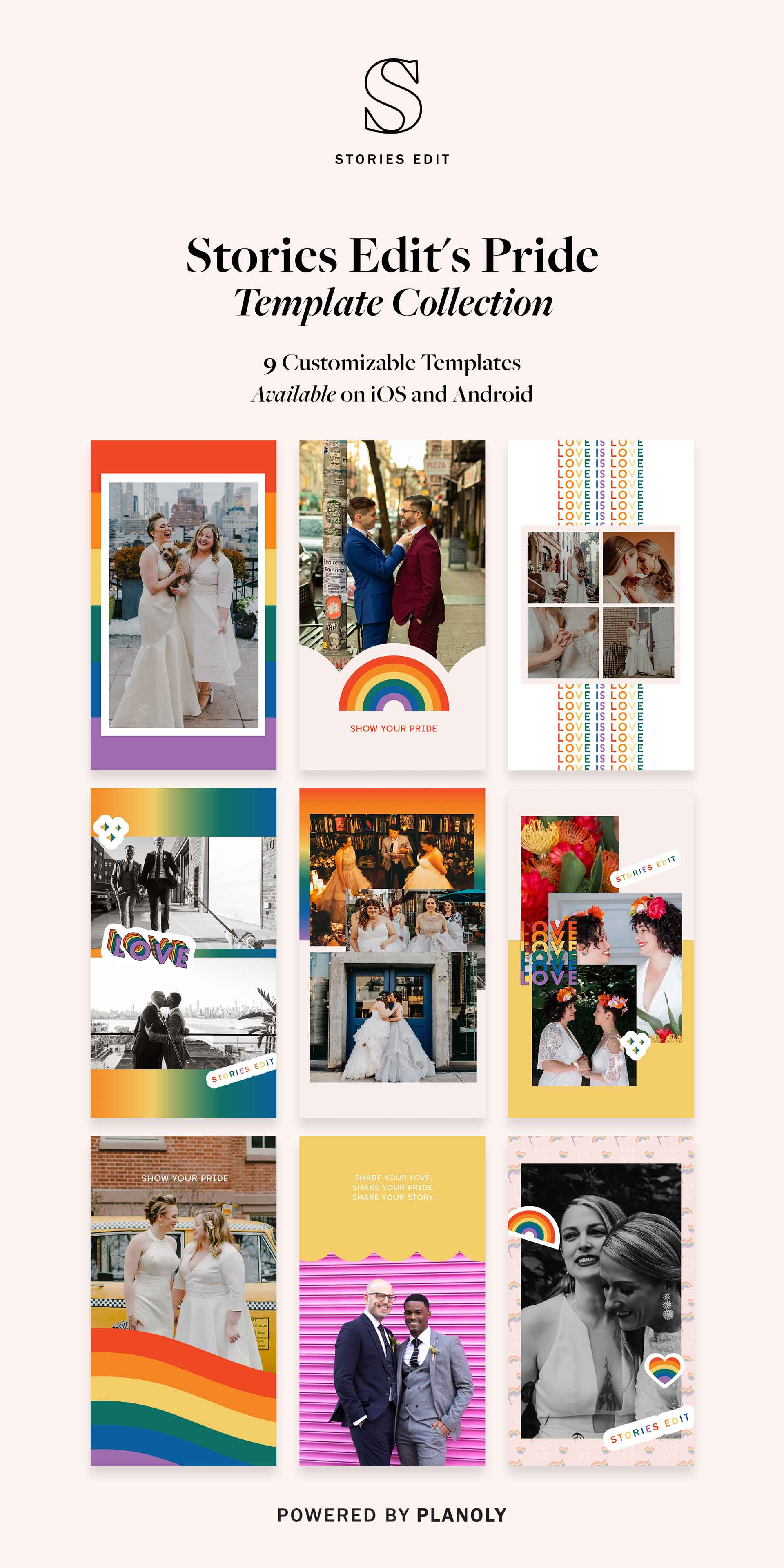 PLANOLY - Blog Post - StoriesEdit Pride Collection - Image 1