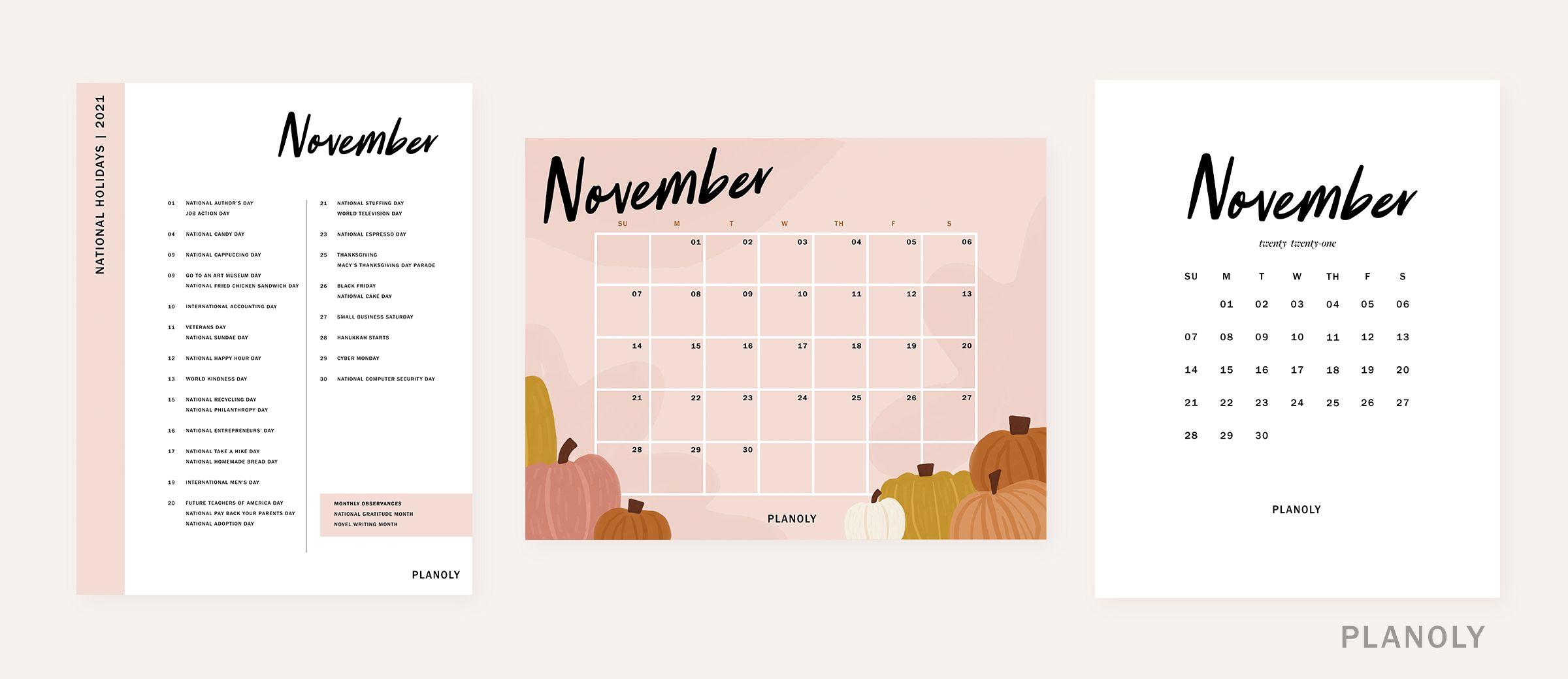 PLANOLY-Q4 Content Calendars-Image 2