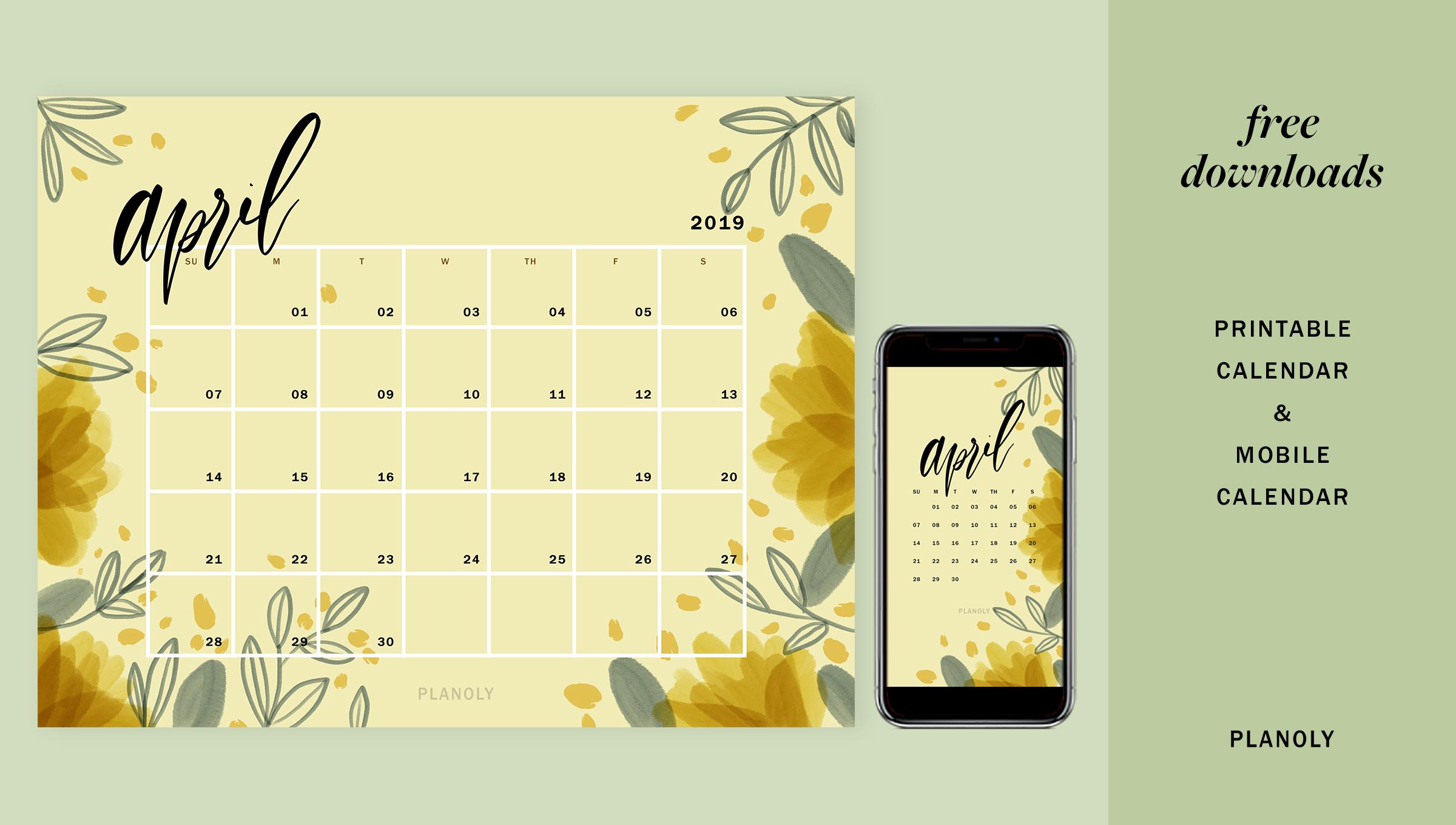 Q2 2019 Content Calendars