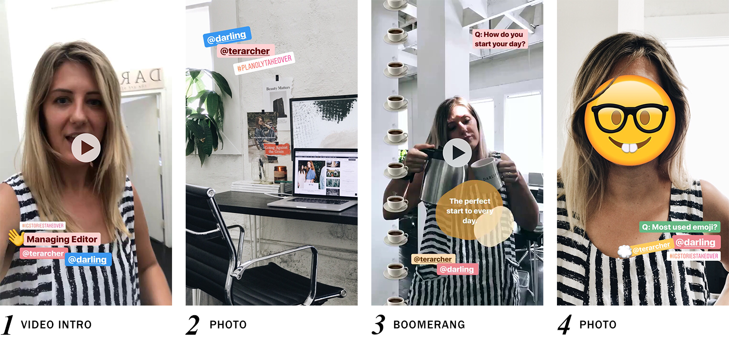 IG Stories Takeover Case Study with Darling Magazine