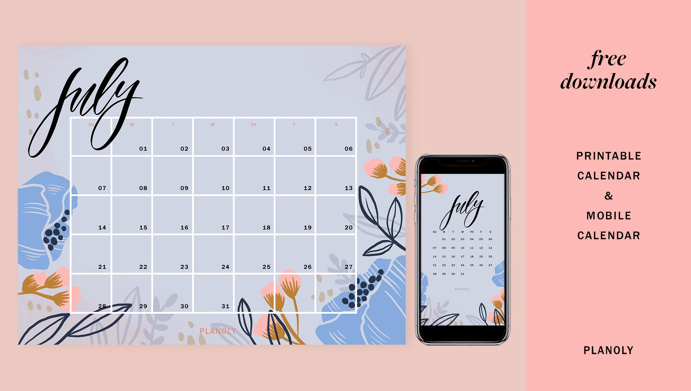 Q3 2019 Content Calendars