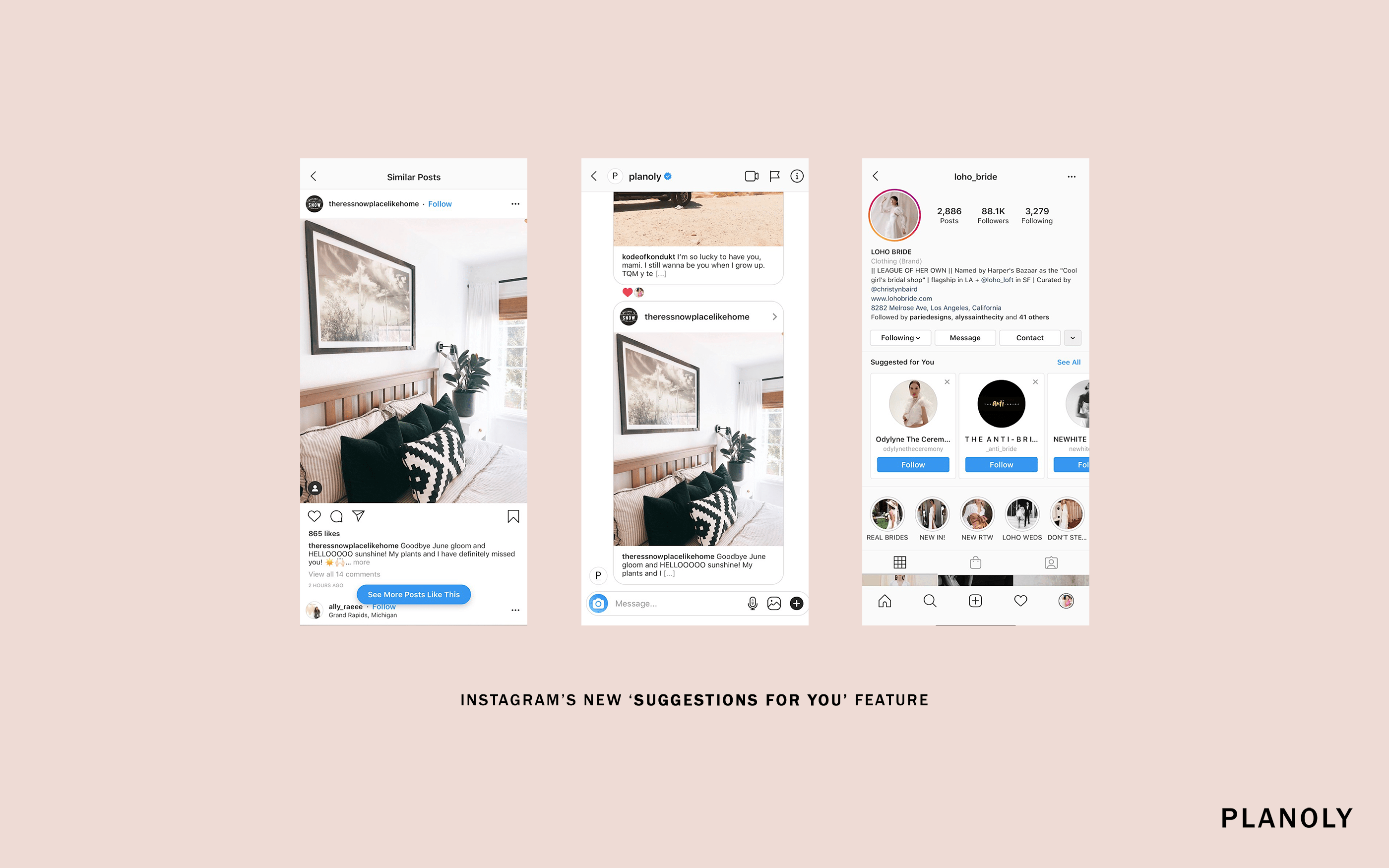 Instagram's New 'Suggestions for You' Feature