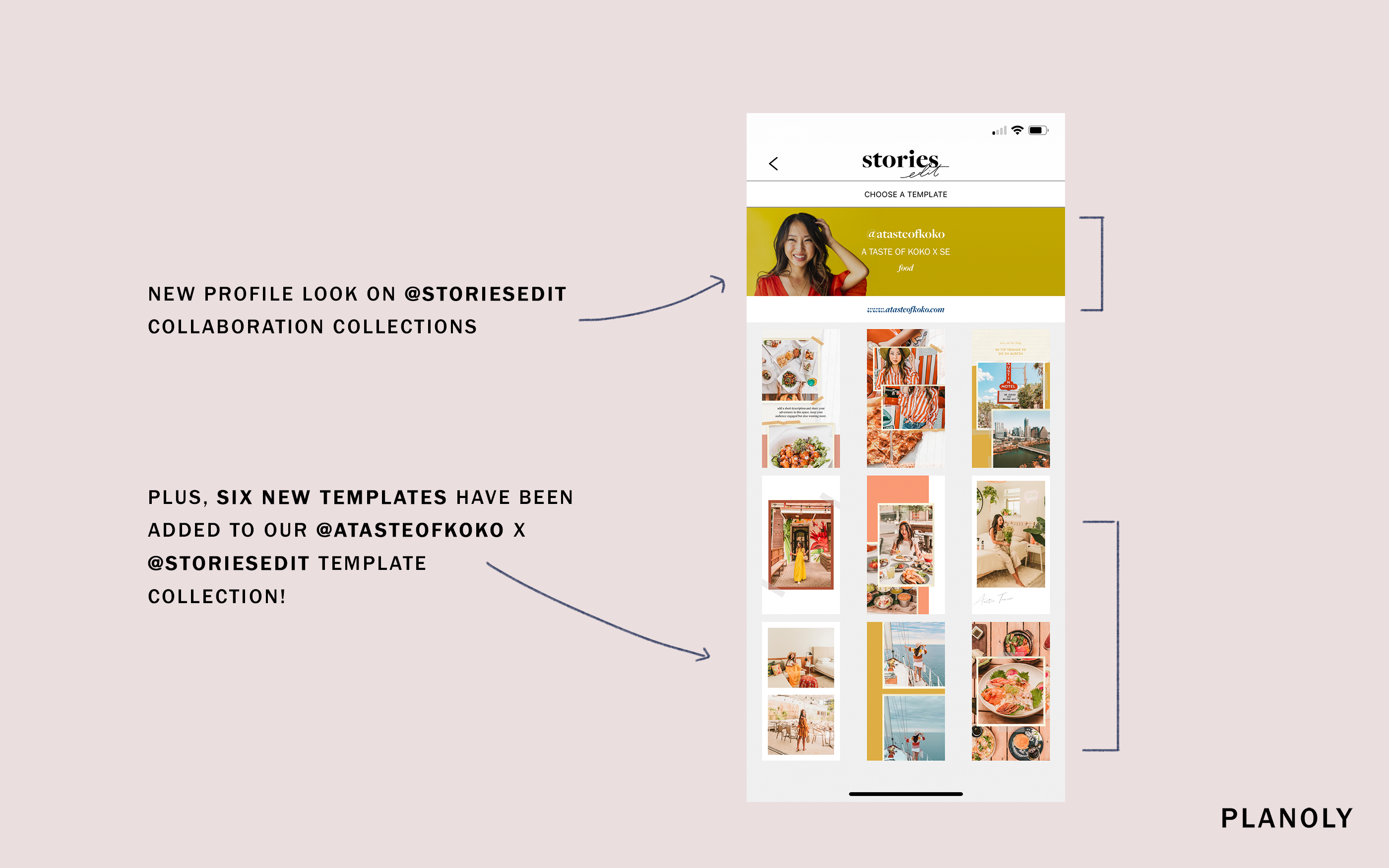 New Profile Look on StoriesEdit Collaboration Collections