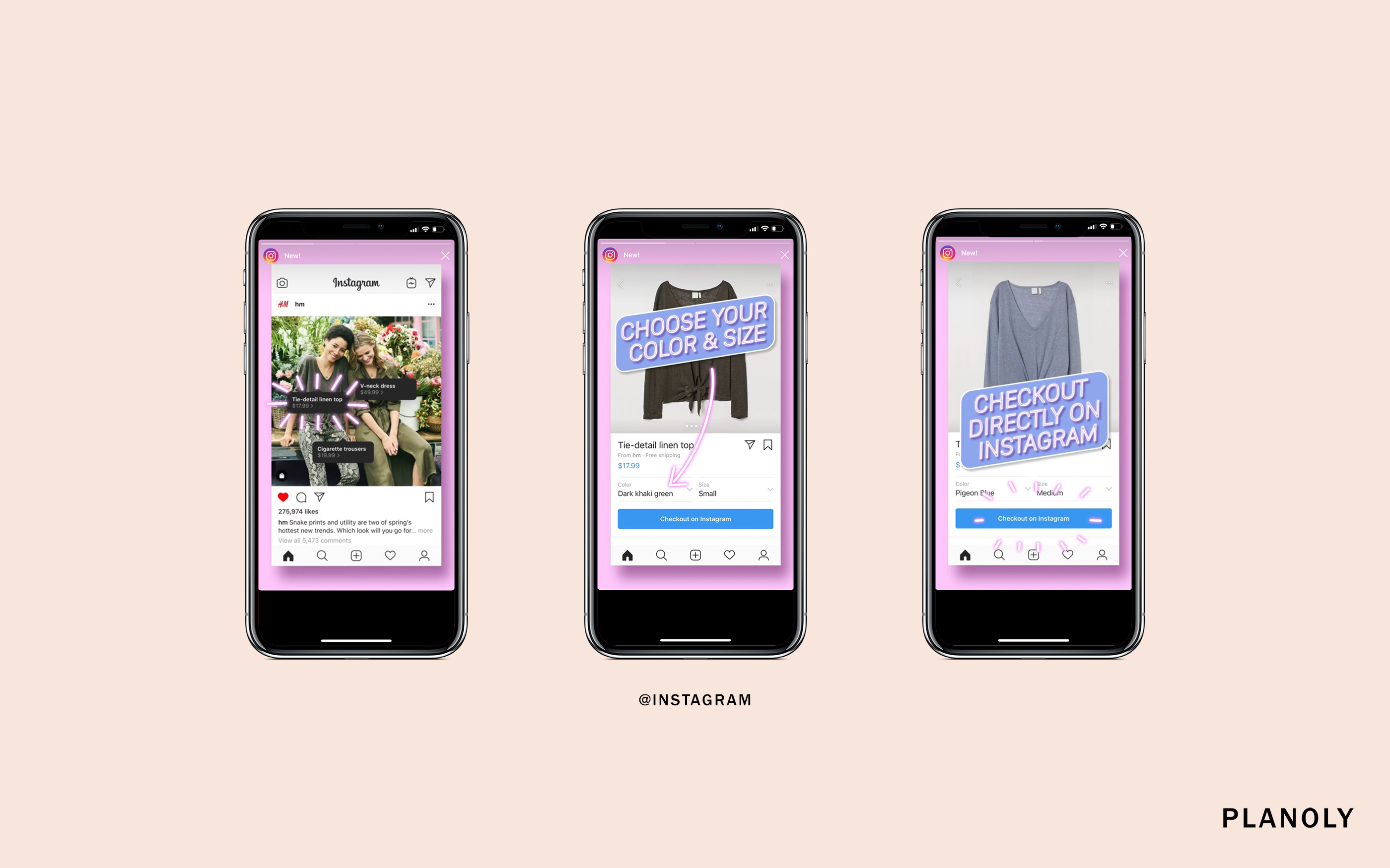 Instagram Releases New Shopping 'Checkout' Feature