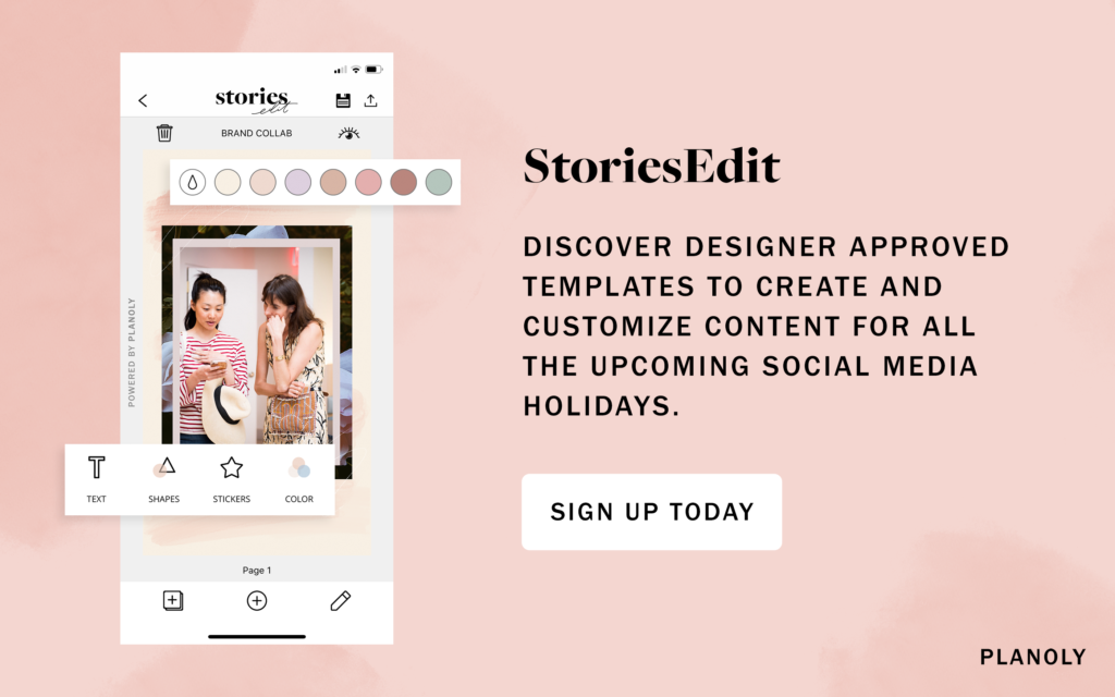 PLANOLY's Ultimate Social Media Holiday Calendar is Here