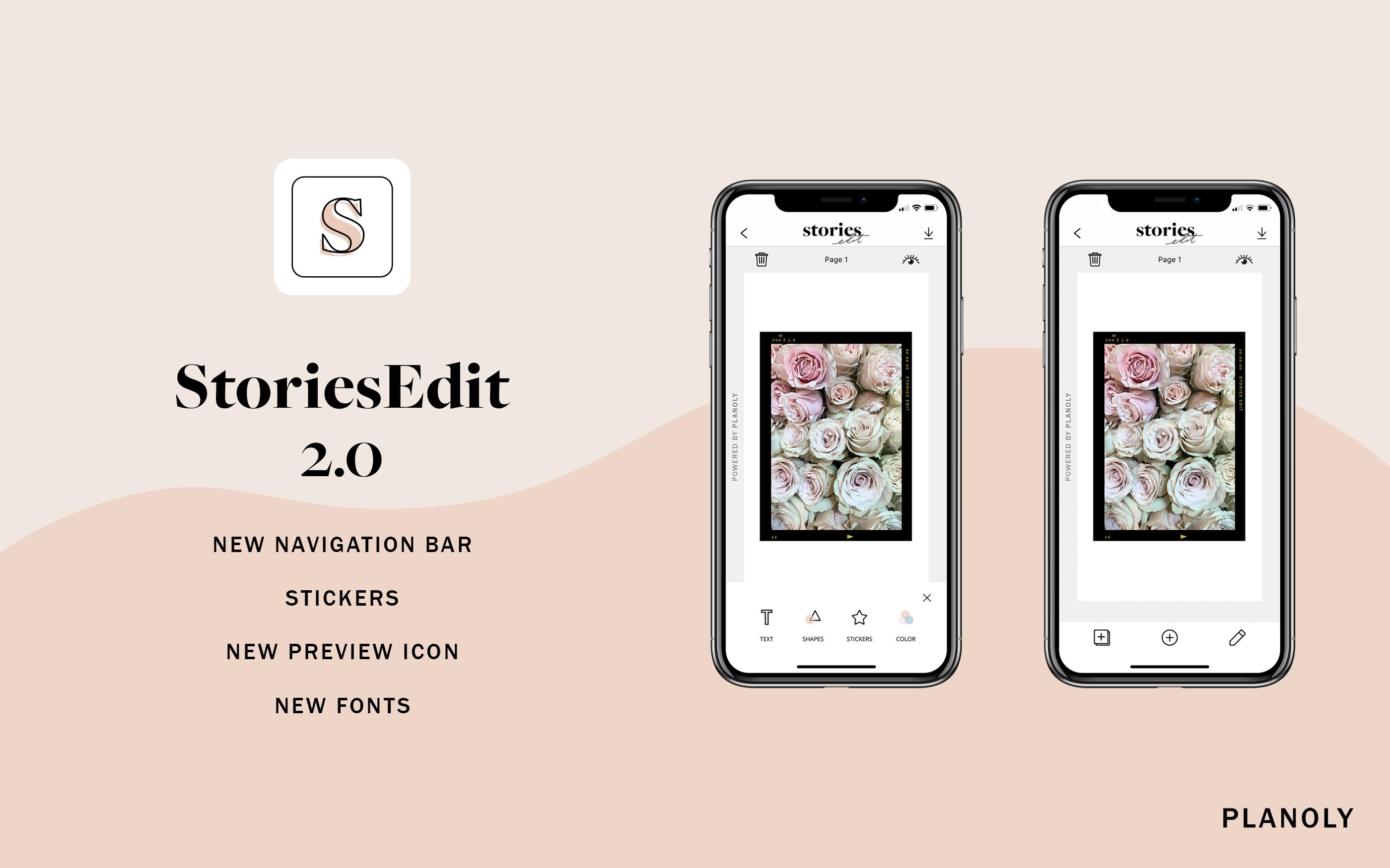 New Announcement: StoriesEdit 2.0