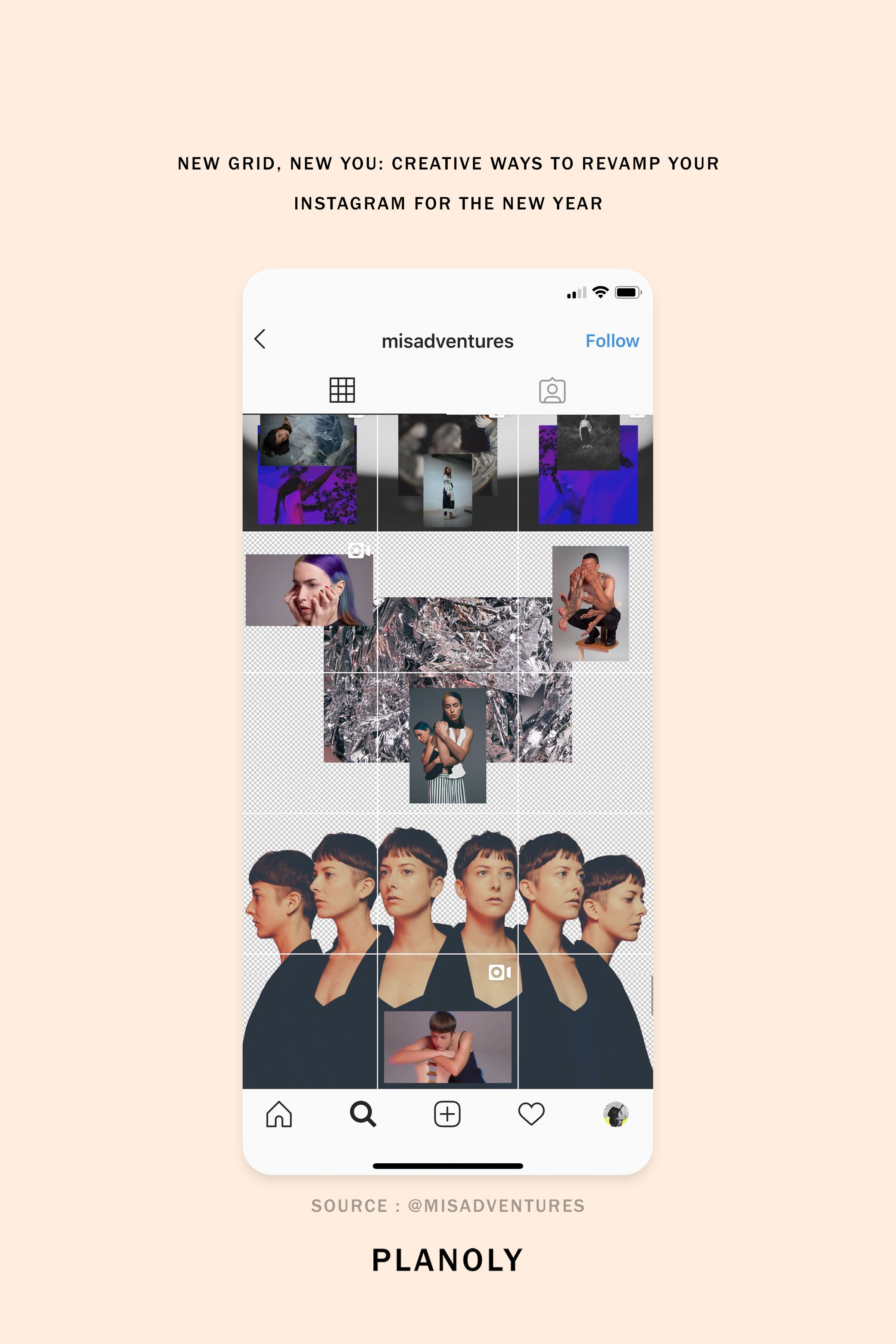 New Grid, New You: Creative Ways to Revamp Your Instagram Grid in the New Year