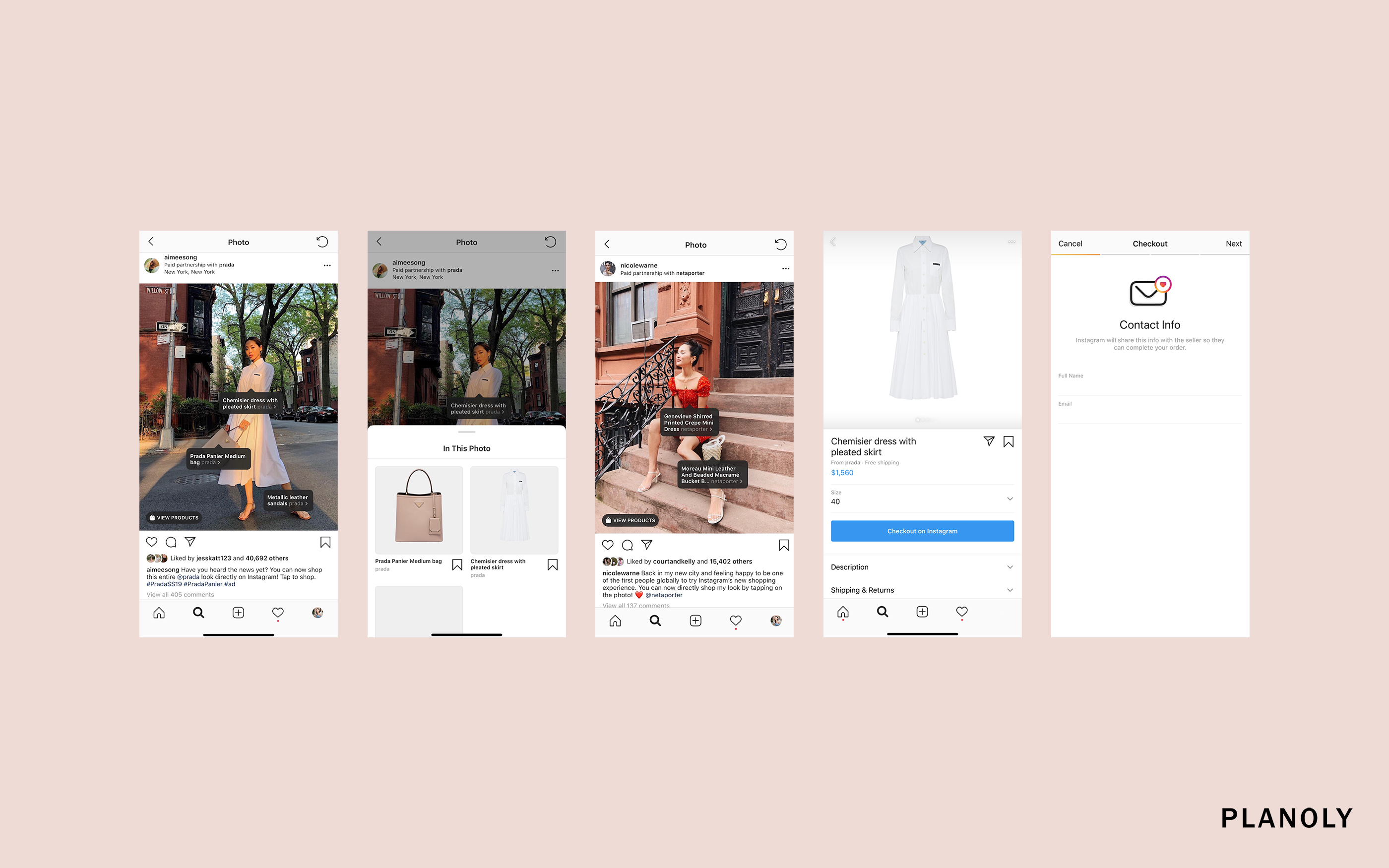 New Shoppable Influencer Posts on Instagram