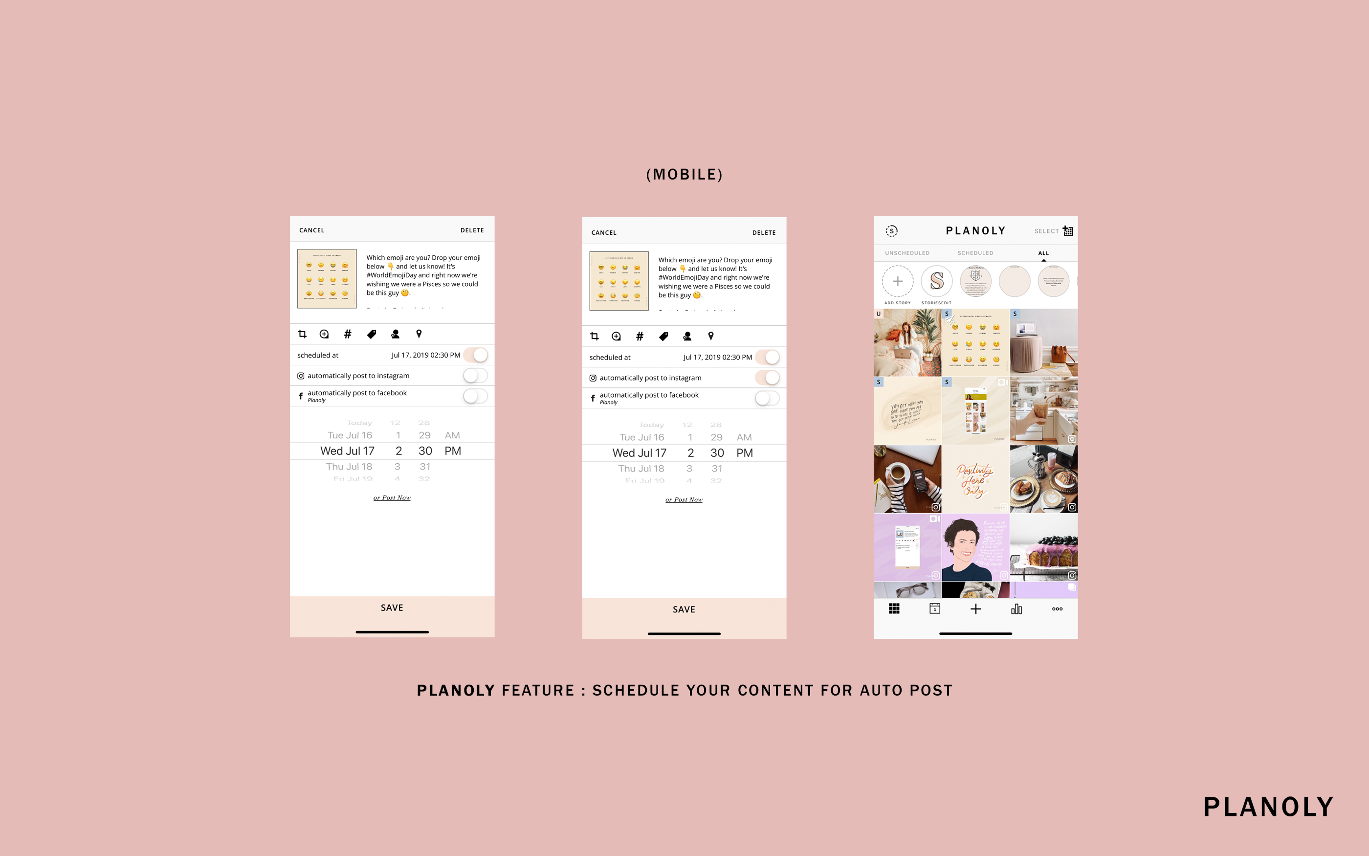 Tips for Auto-Posting on PLANOLY for Influencers and Small Businesses