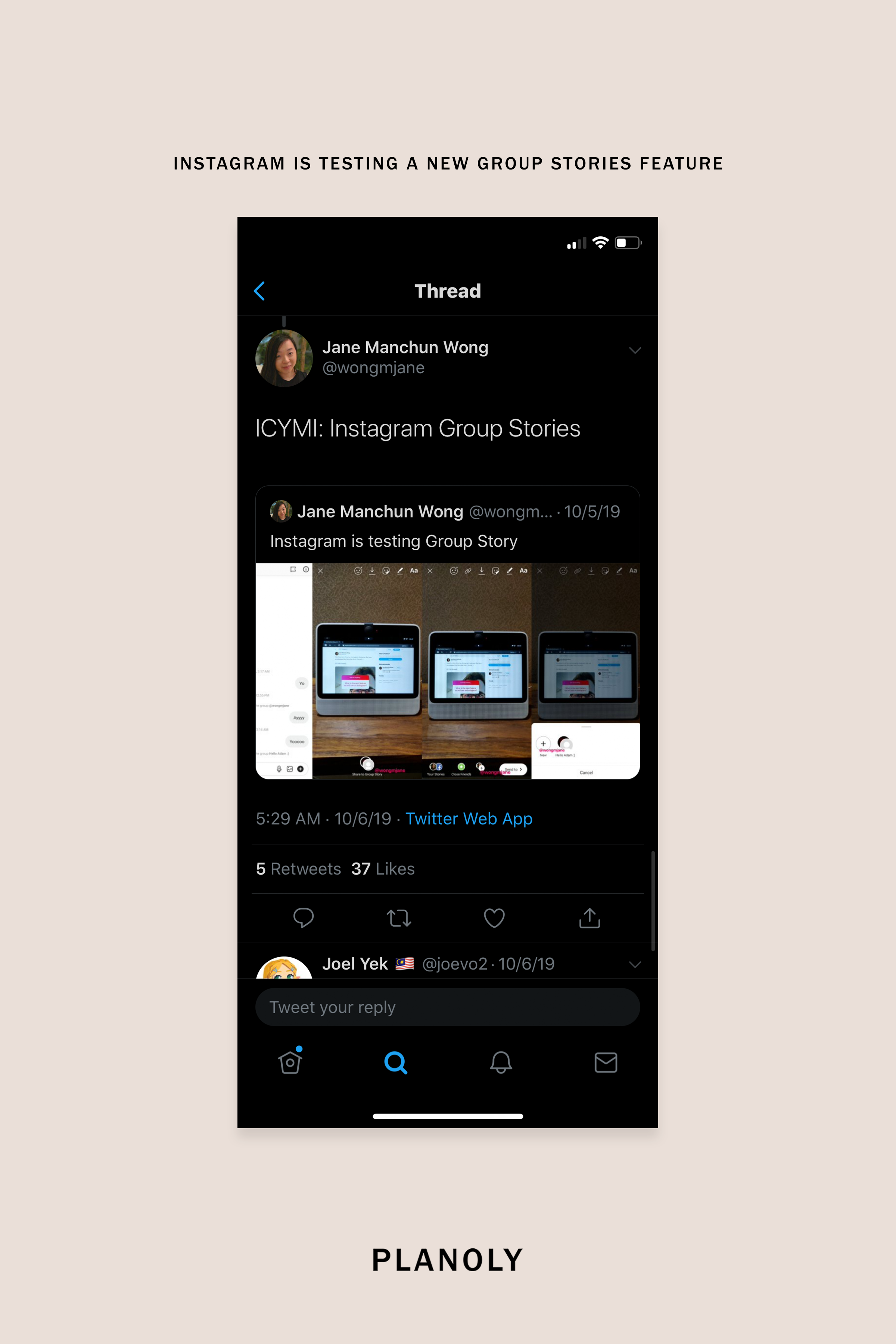 Instagram Testing New Group Stories Feature