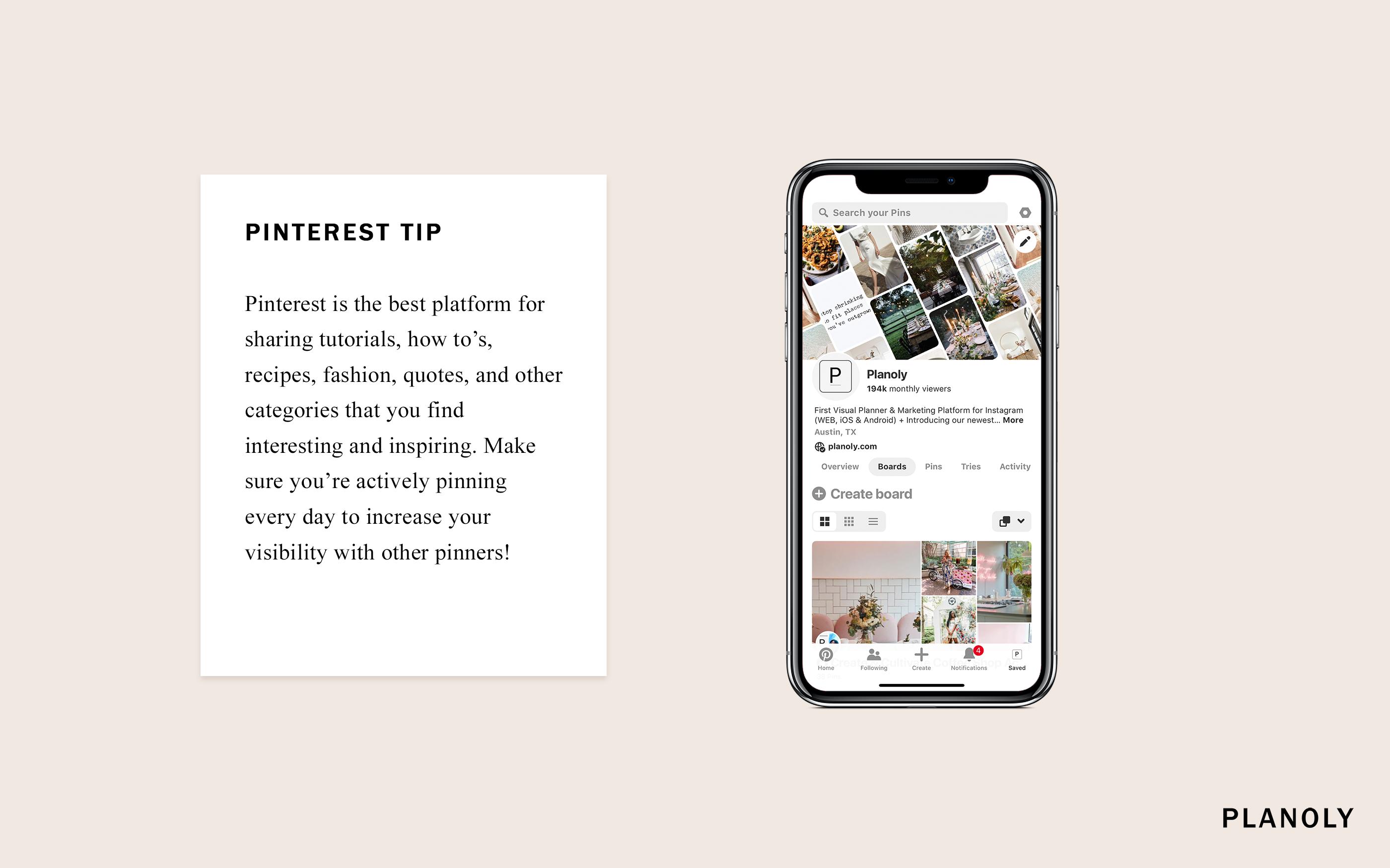 PLANOLY Pinterest Tip