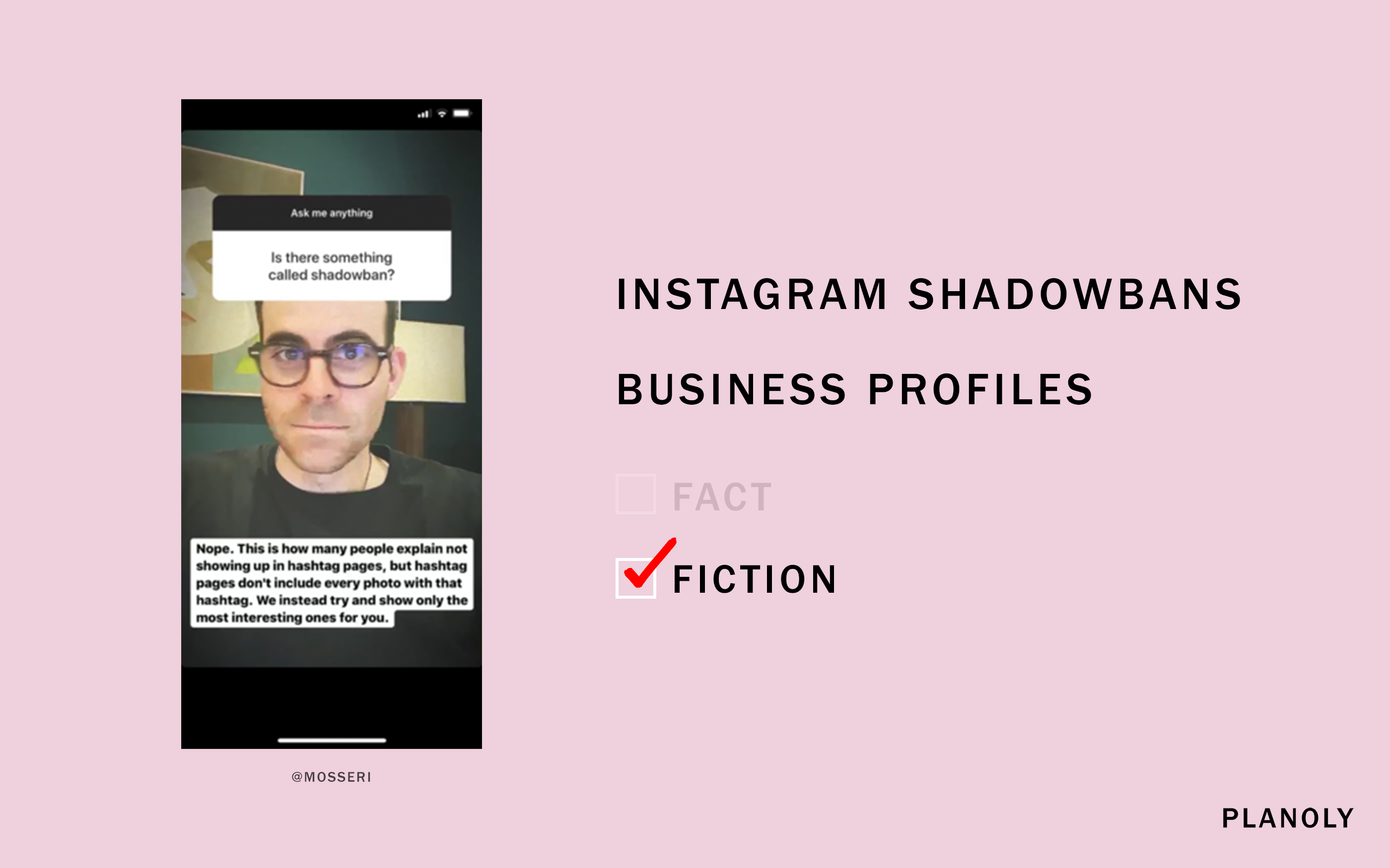 Fact or Fiction: Instagram Edition