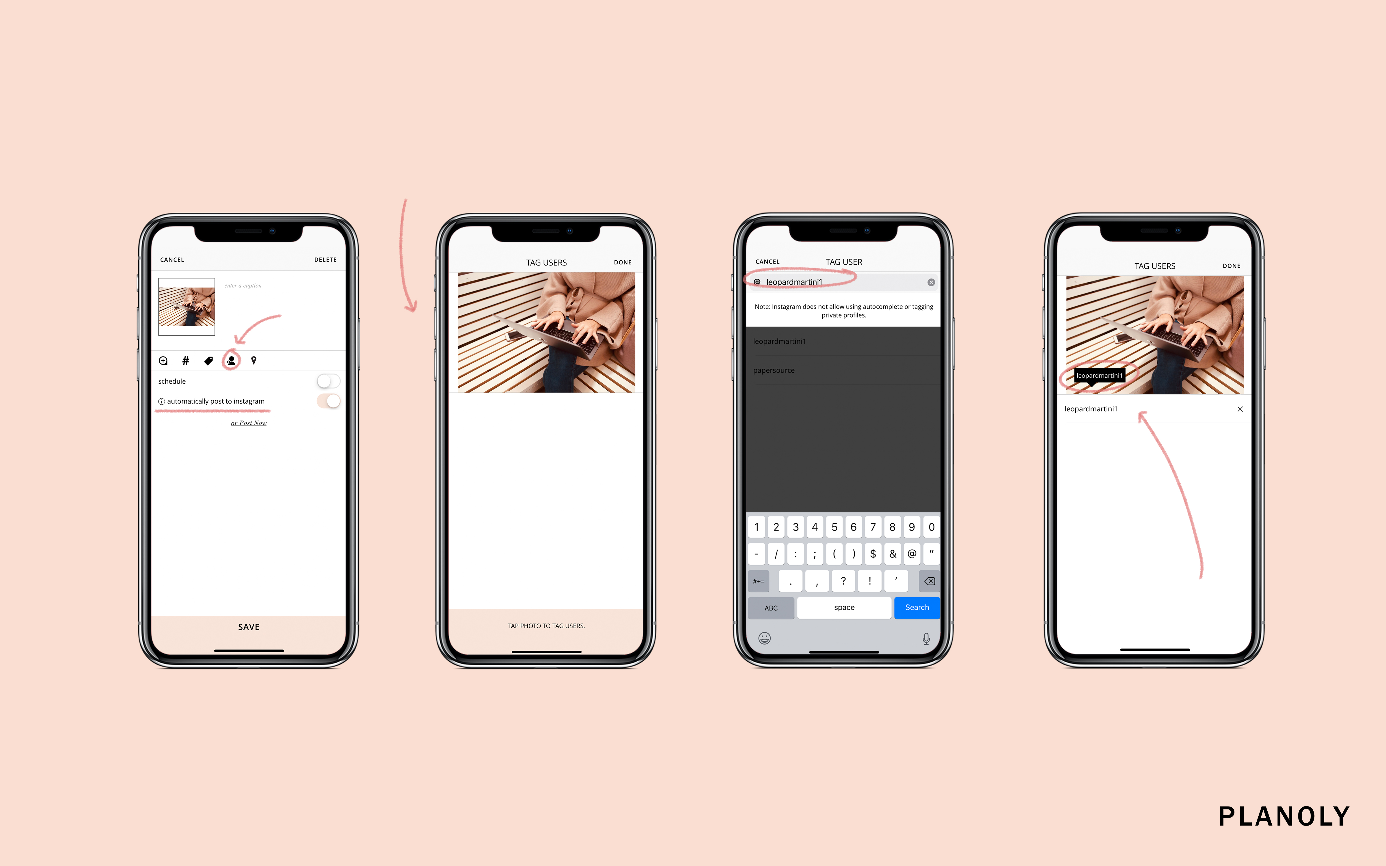 New Feature: User and Location Tagging on PLANOLY