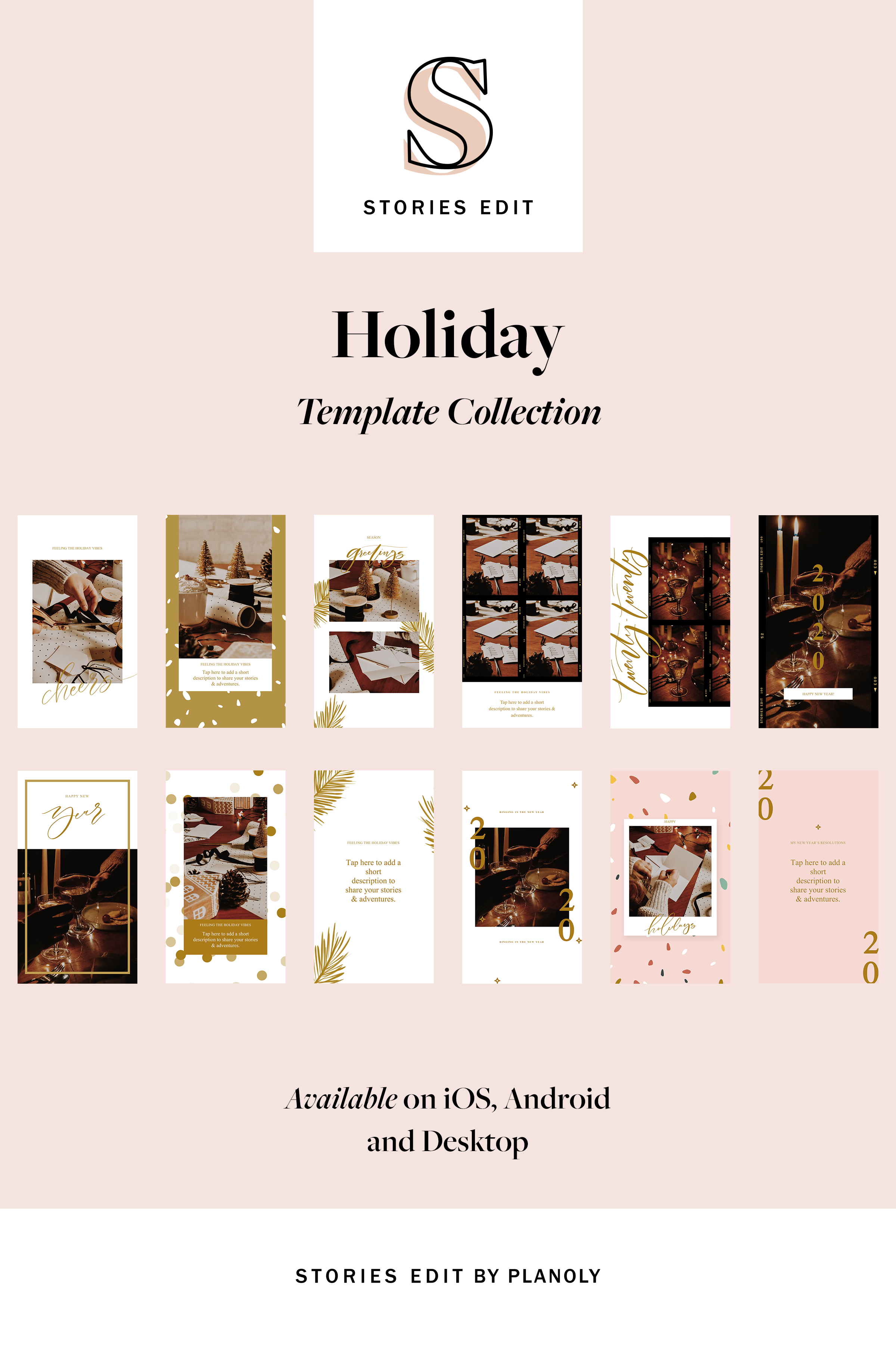 8 Instagram Story Ideas for Our StoriesEdit Holiday Template