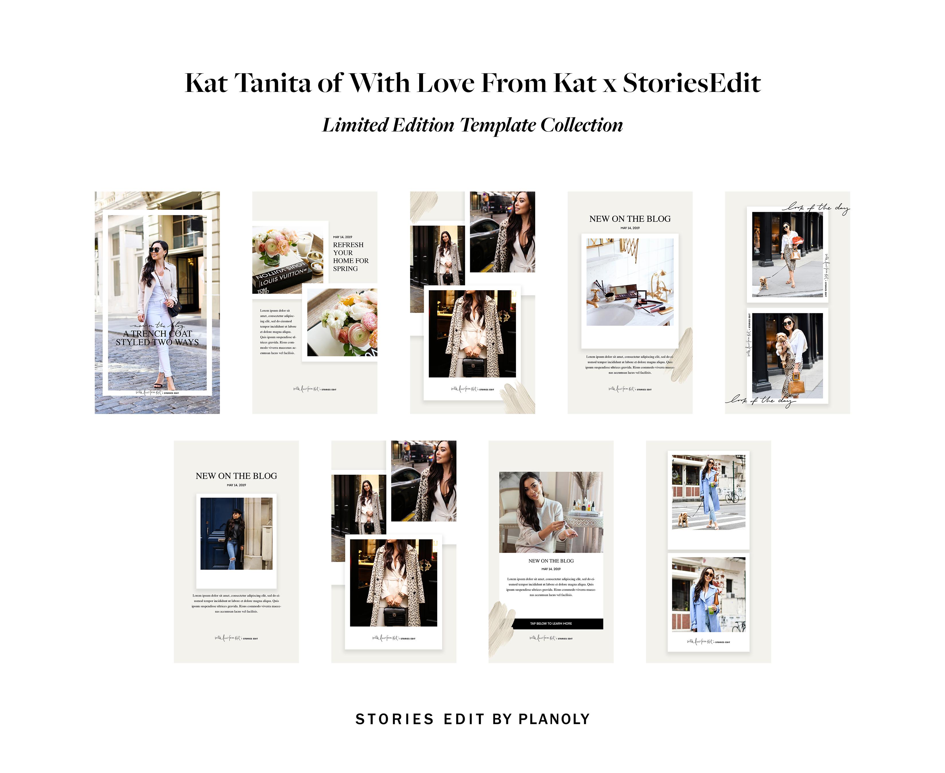 Kat Tanita x StoriesEdit Template Collection