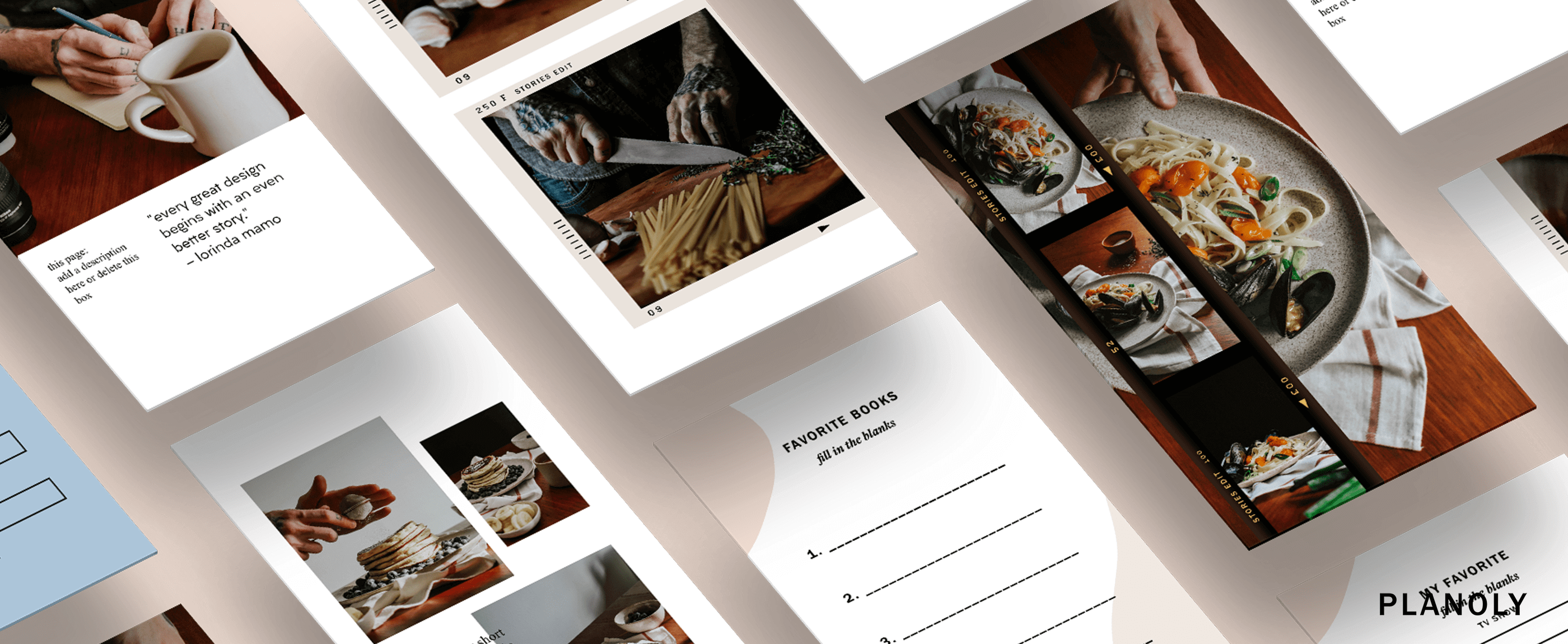 New StoriesEdit Template Collections: Essentials, Film, and Pop Quiz