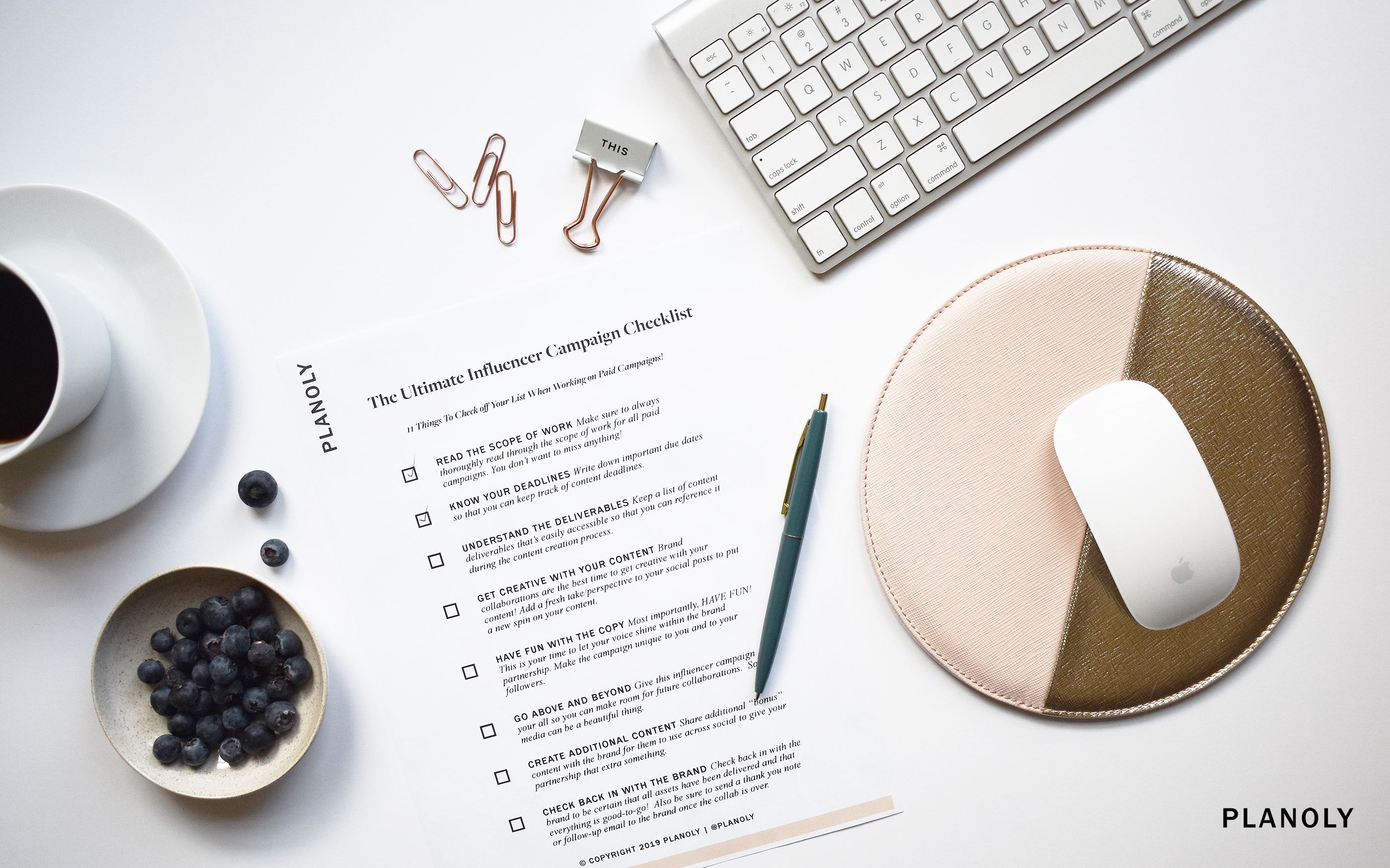 The Ultimate Influencer Campaign Checklist
