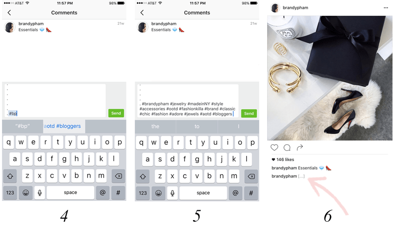 instagram hashtag tip on planoly