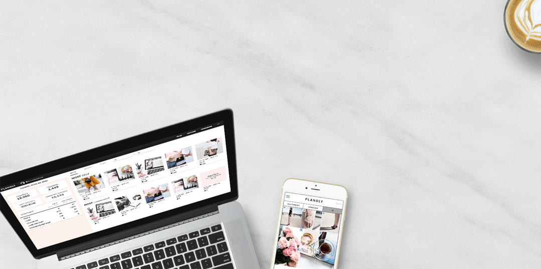 Web Features on PLANOLY