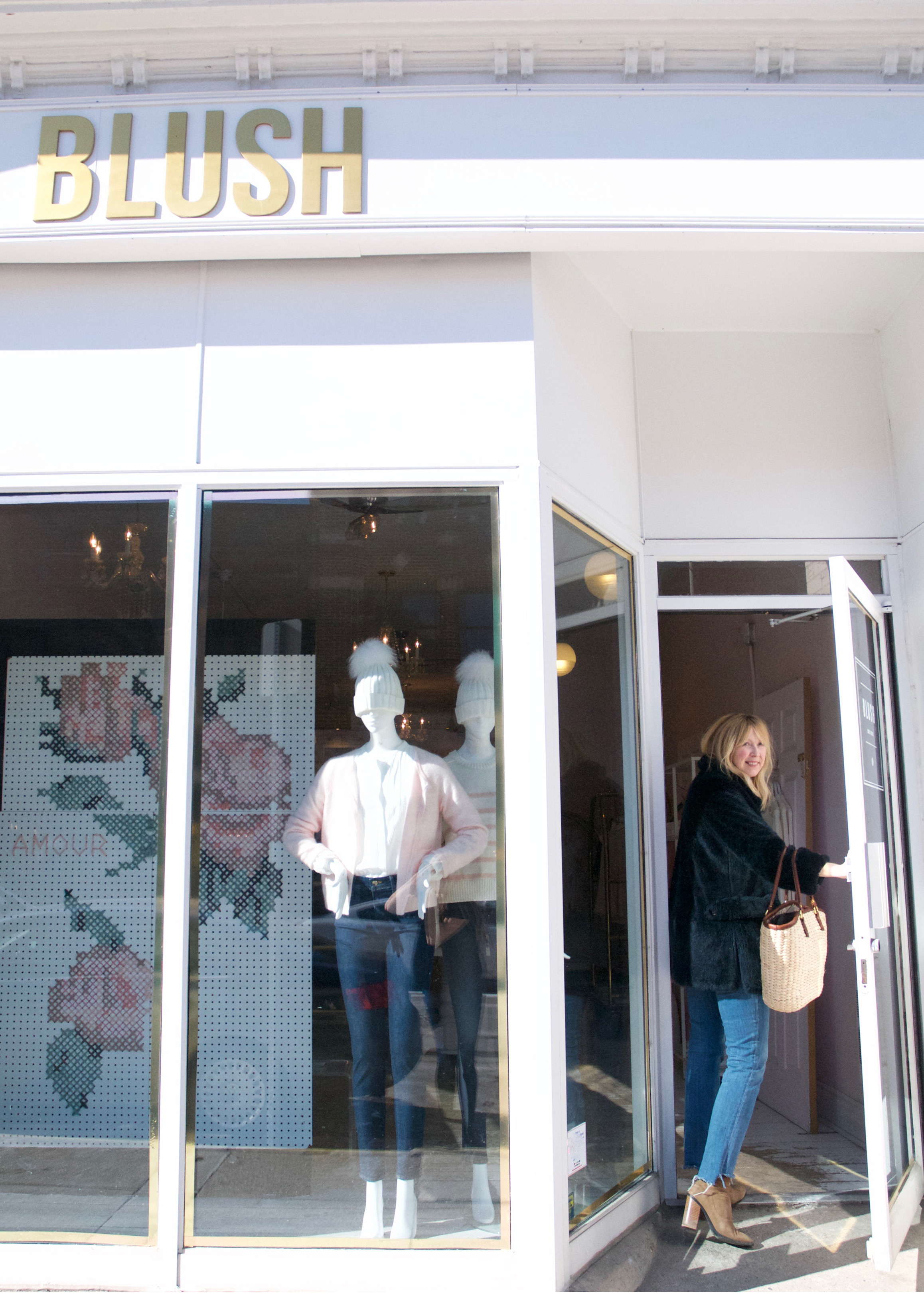 Shop Visit: Blush Shop