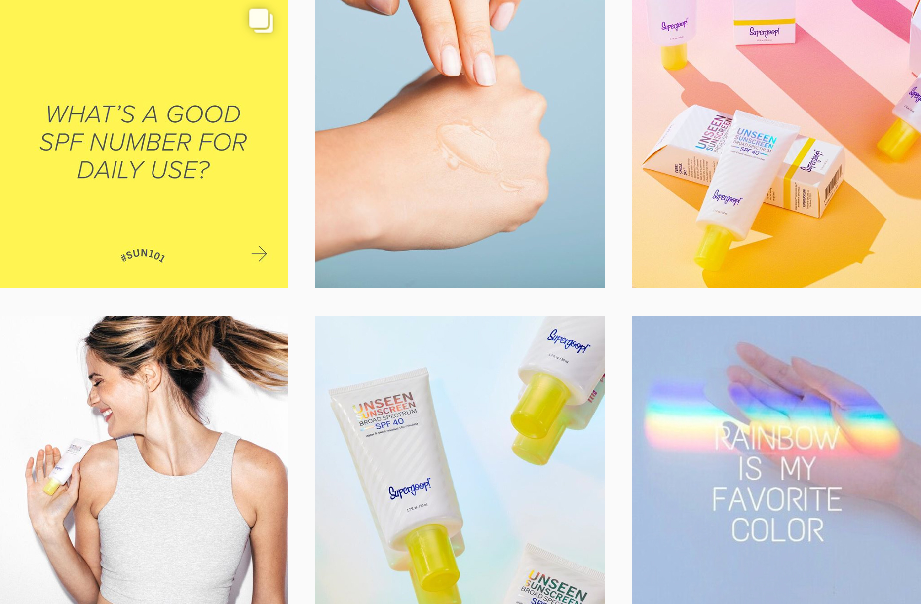 Planoleaders: Britany LeBlanc of Supergoop! - PLANOLY Blog - Instagram