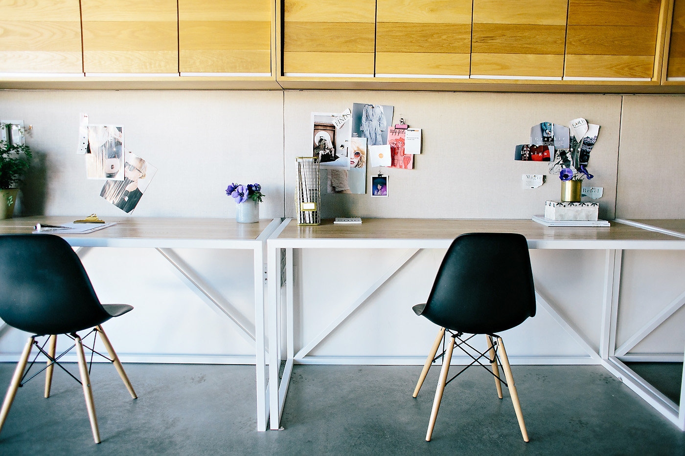 Arianna Wrote This - Create Cultivate - PLANOLY Blog Interview - Office Space