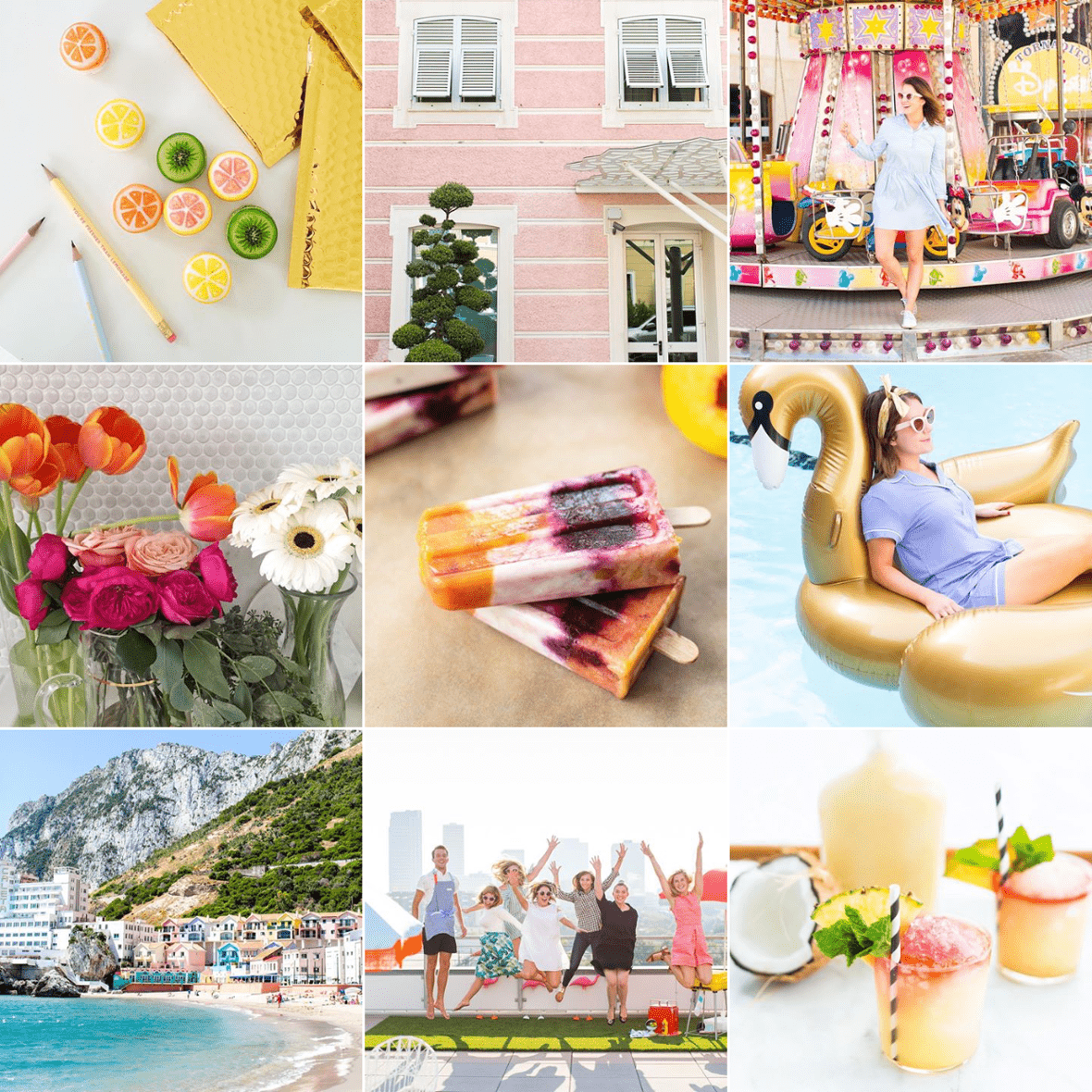 HOW TO CURATE YOUR INSTAGRAM USING COLOR THEMES - PLANOLY Blog - SugarAndCloth
