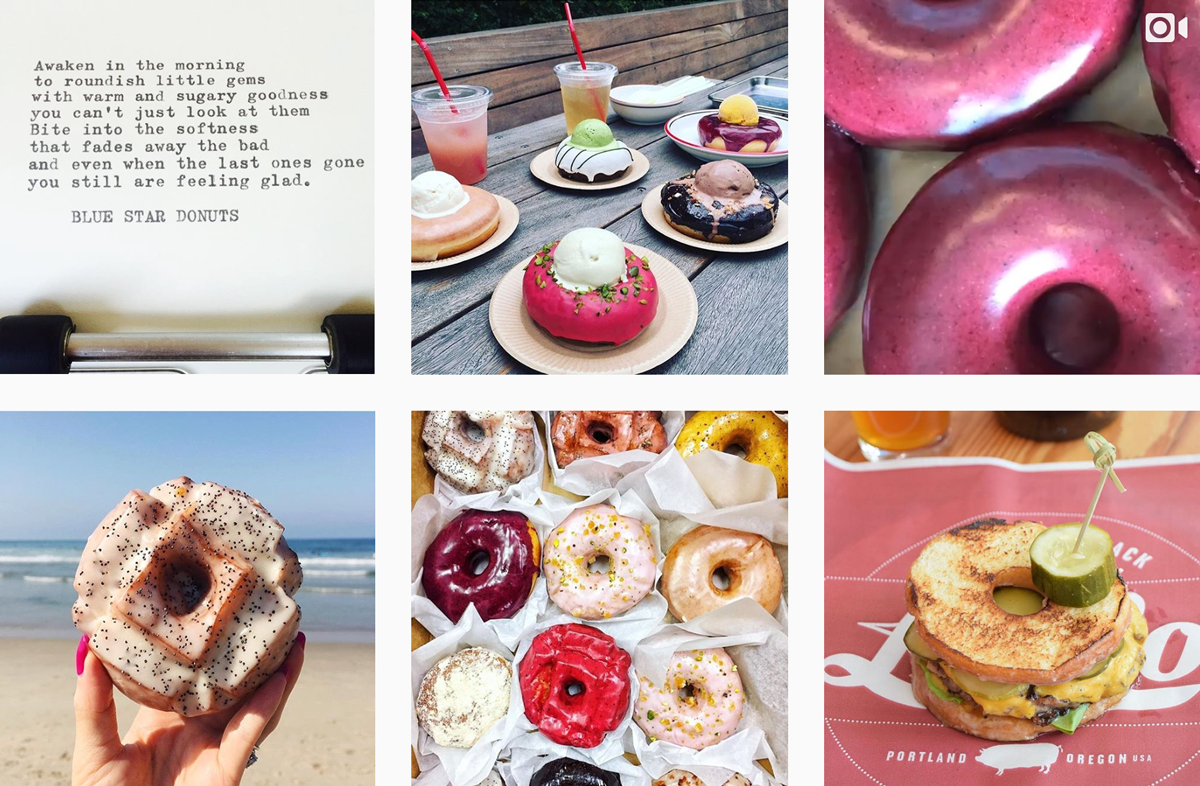 Doughnut Instagram Accounts You Need to Follow - PLANOLY - Blue Star
