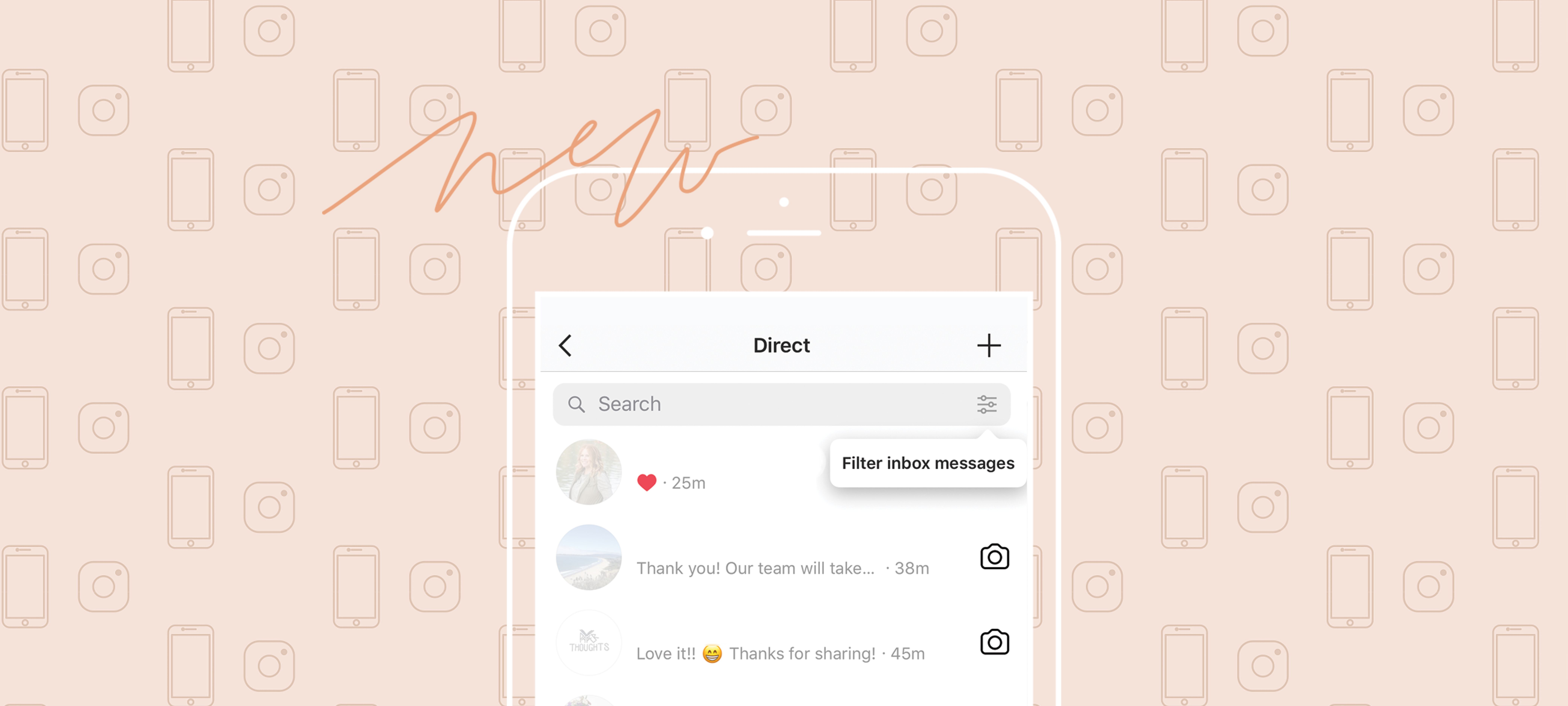 How to Filter and Flag Direct Messages on Instagram