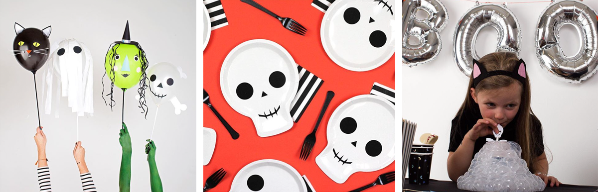 Best Places to Prepare for a Halloween Party - PLANOLY Blog - Meri Meri