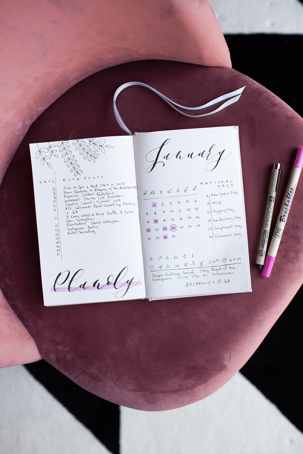 how to start a bullet journal - PLANOLY - 2