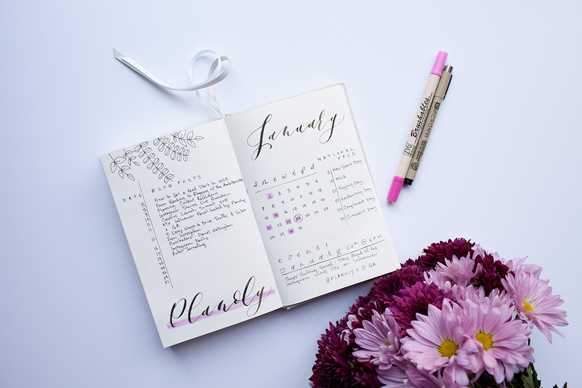 how to start a bullet journal - PLANOLY - 3