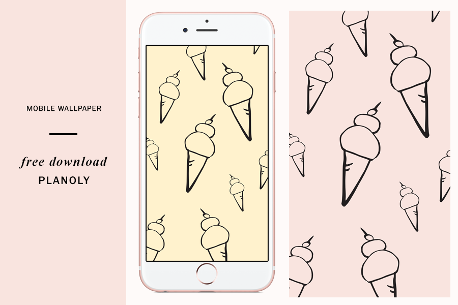 National Ice Cream Day - Free Wallpapers by PLANOLY - 3
