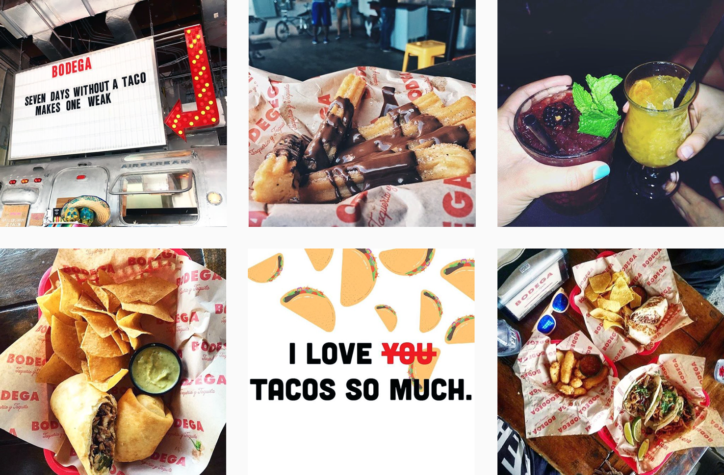 Lets Taco 'Bout It - National Taco Day - PLANOLY Blog - Bodega Taqueria y Tequila