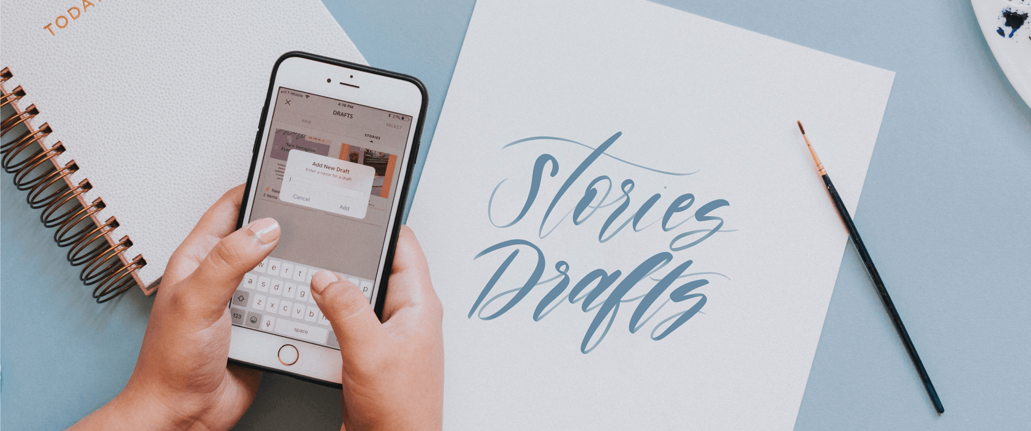 New Feature: Stories Drafts