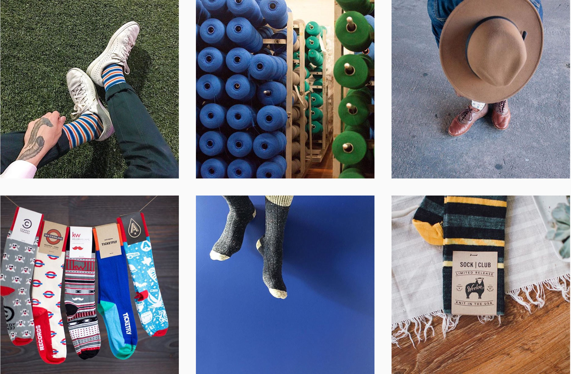 How to Brand and Instagram According to Sock Club - PLANOLY Blog 2