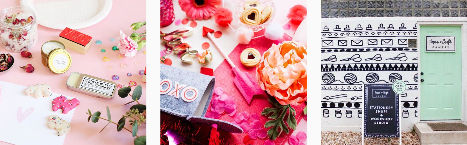 Planoly's Guide to Valentine's Day - PLANOLY Blog Paper Craft Pantry