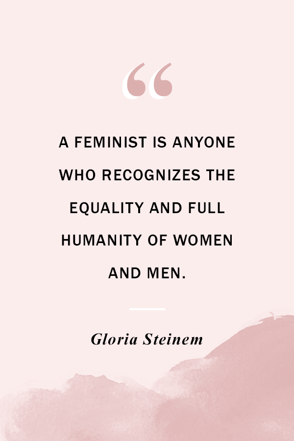 Women's Equality Day - PLANOLY Blog - Gloria Steinem